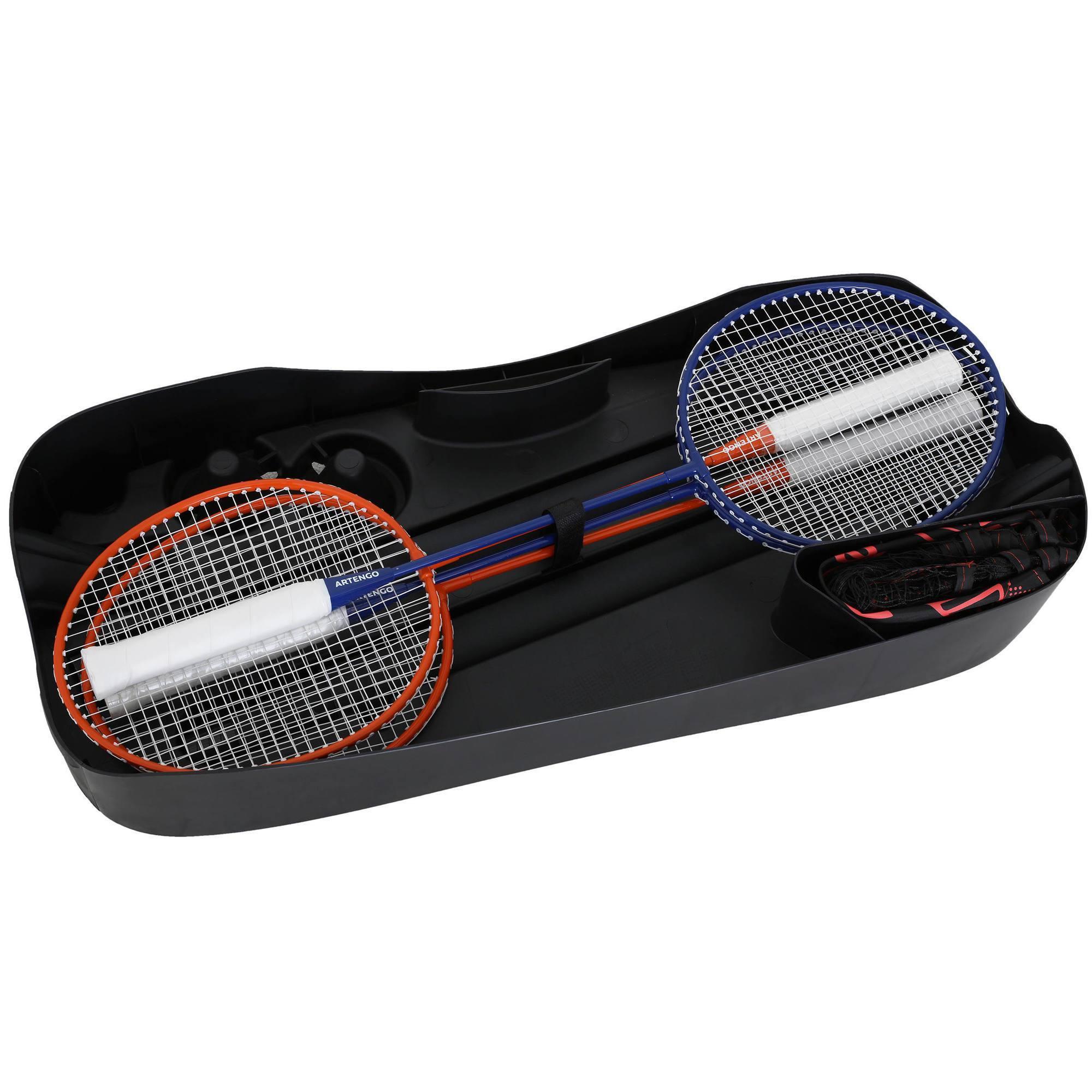 filet de badminton easy set 3m plus clubs. Black Bedroom Furniture Sets. Home Design Ideas