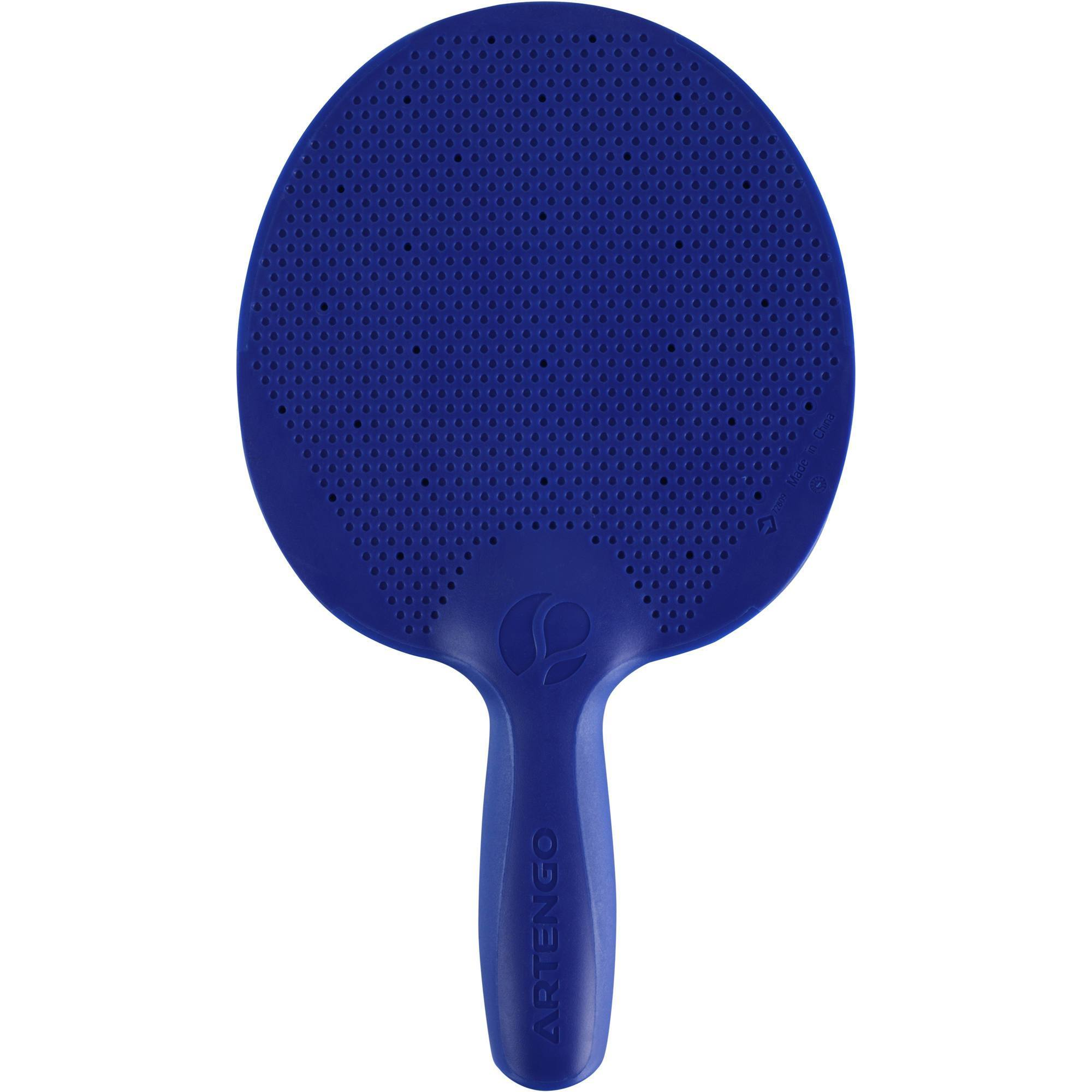 raquette de free ping pong fr 100 o bleue clubs. Black Bedroom Furniture Sets. Home Design Ideas