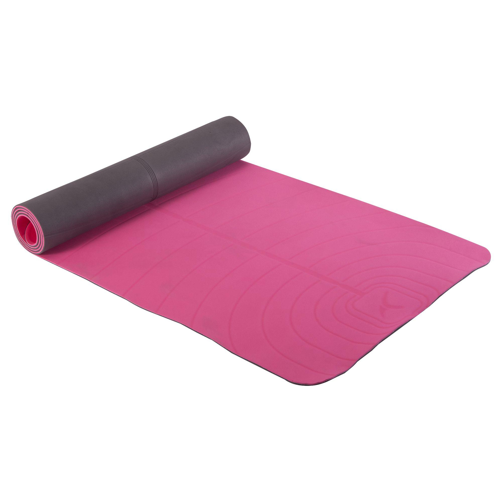 Tapis de yoga CLUB 5 mm rose