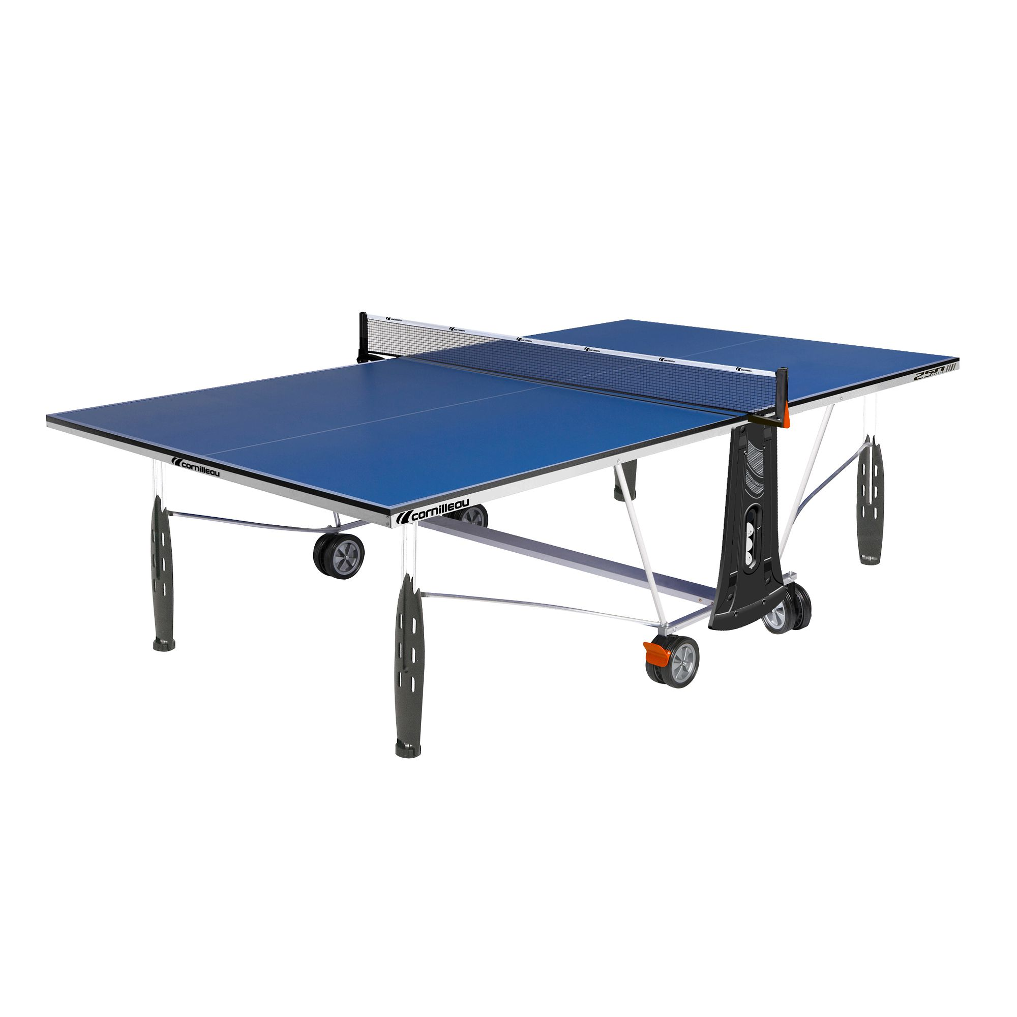 Table de tennis de table interieur cornilleau 250 indoor for Table interieur