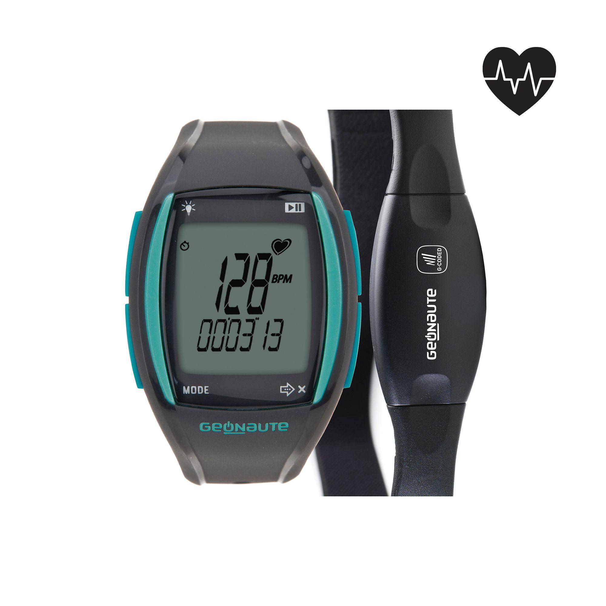 Montre et ceinture codée cardiofréquencemètre ONRHYTHM 310 access verte