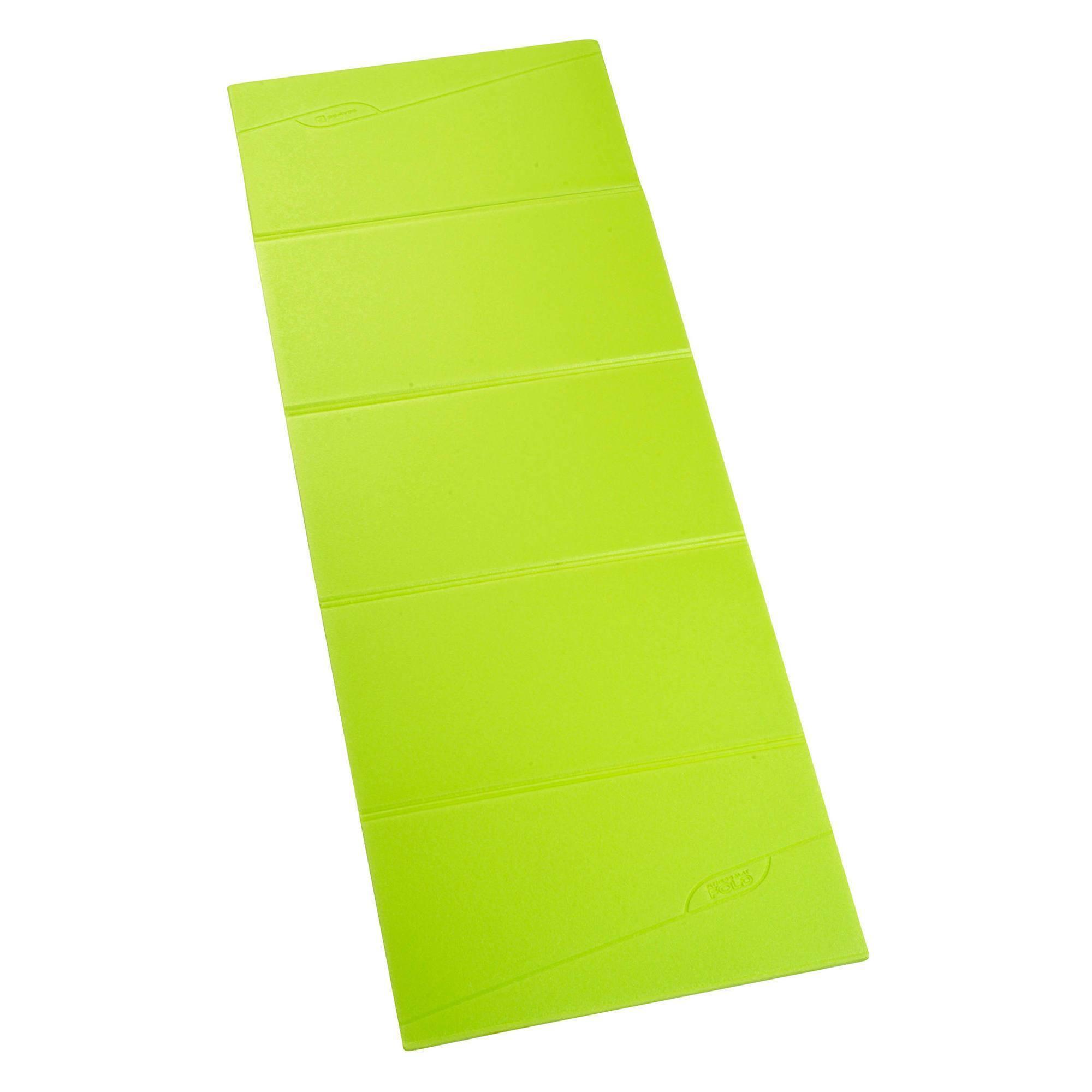 Tapis de sol fitness pliable FOLD vert