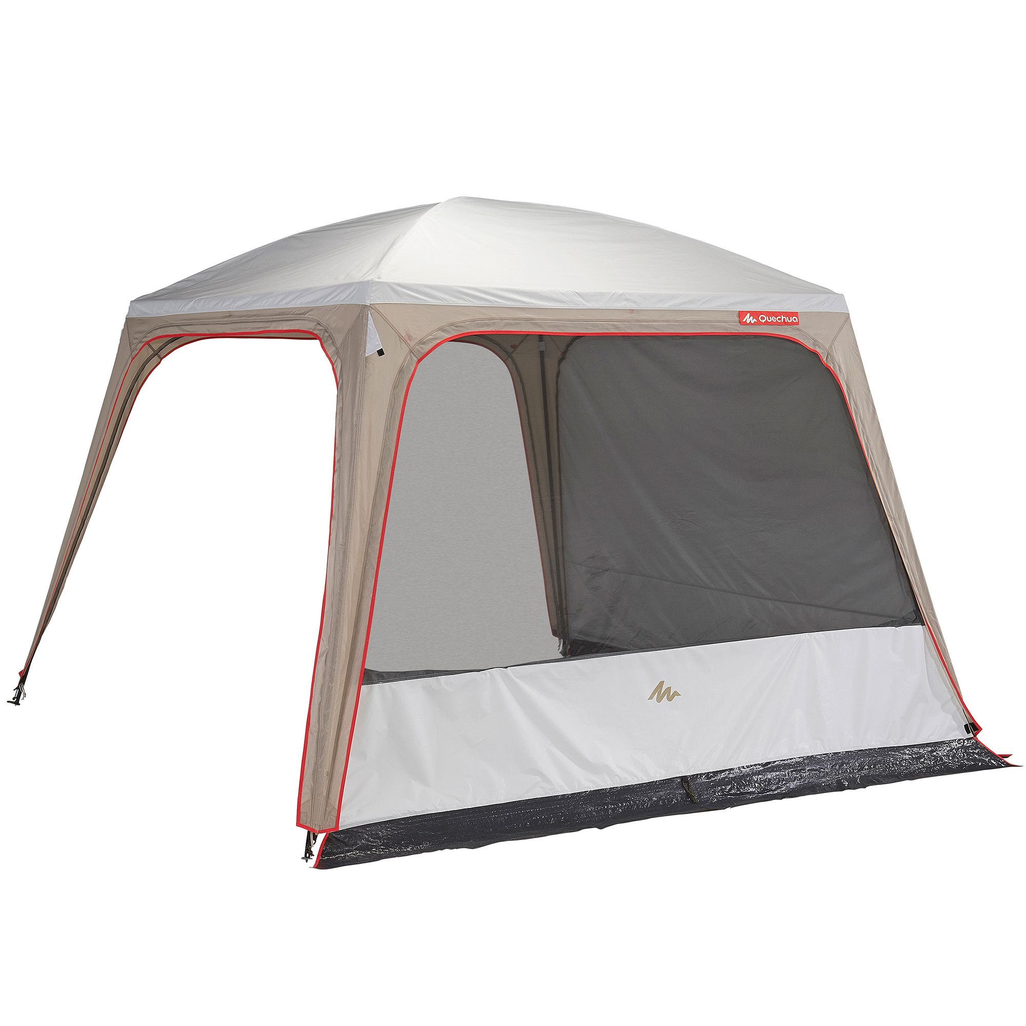 Sejour a portes camping camp arpenaz 3x3 10 pers upf50 for Carpas plegables decathlon