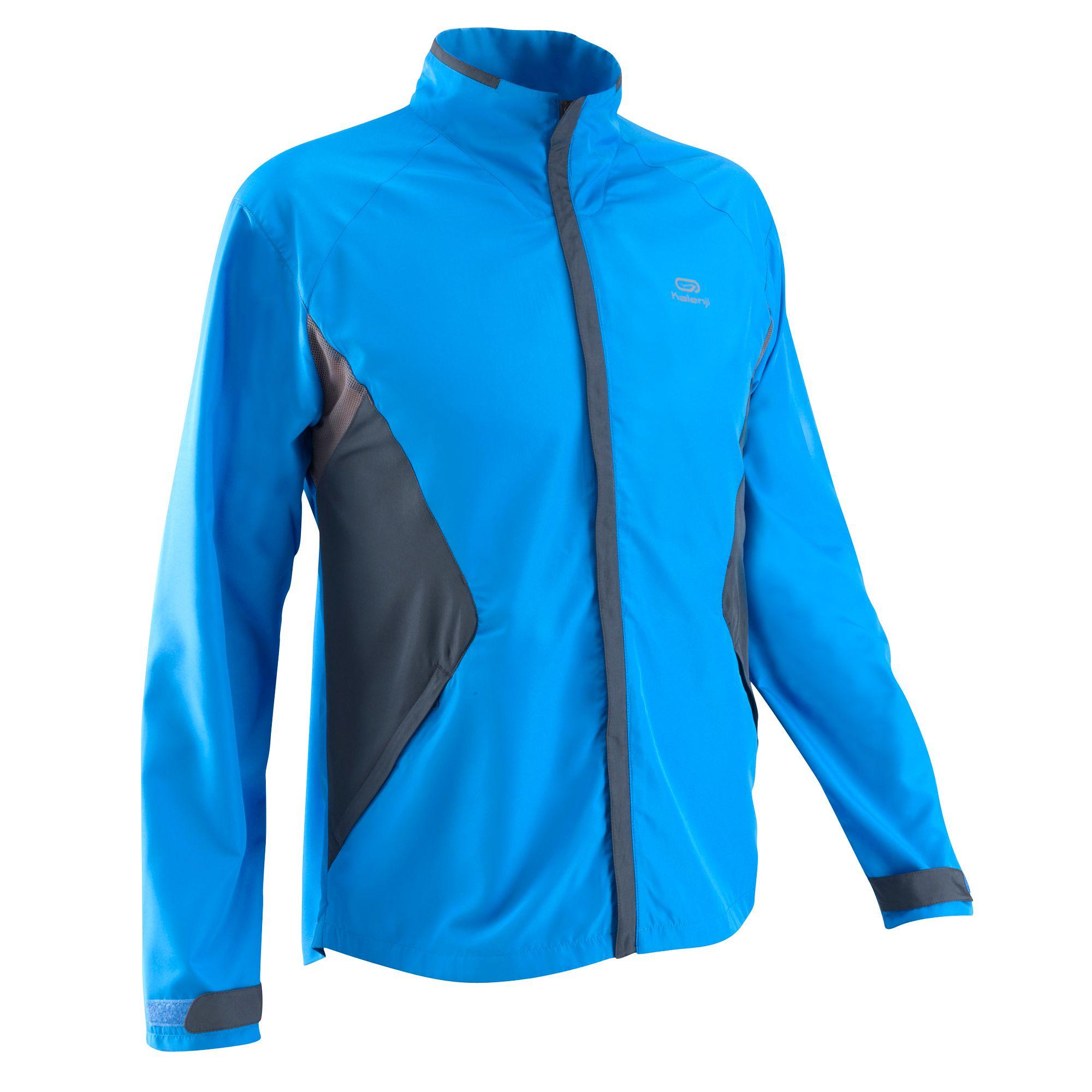 Veste Running homme Ekiden Wind bleu gris