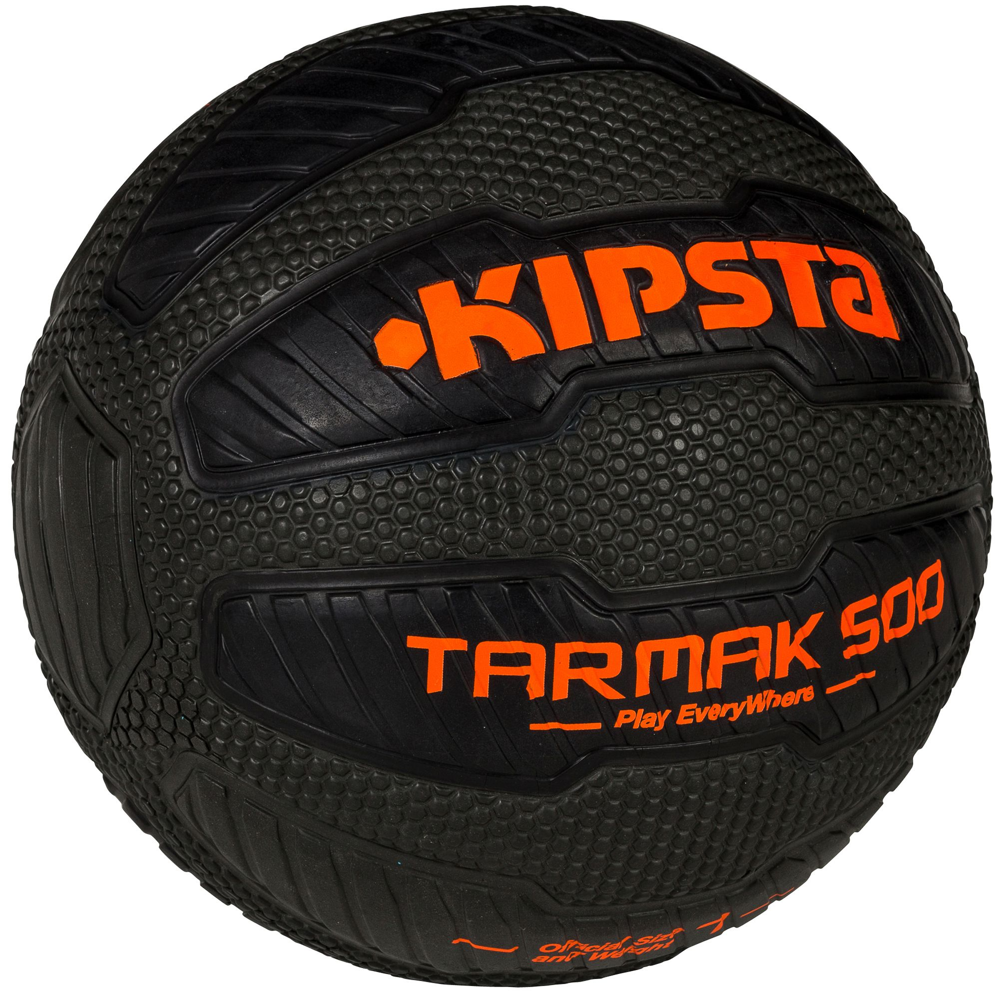 Ballon basketball adulte Tarmak 500 Magic Jam taille 7 noir