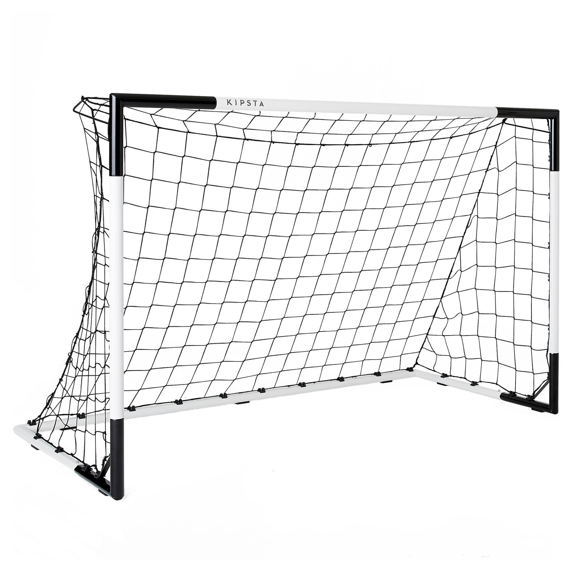 But de football SG 500 taille M blanc/noir