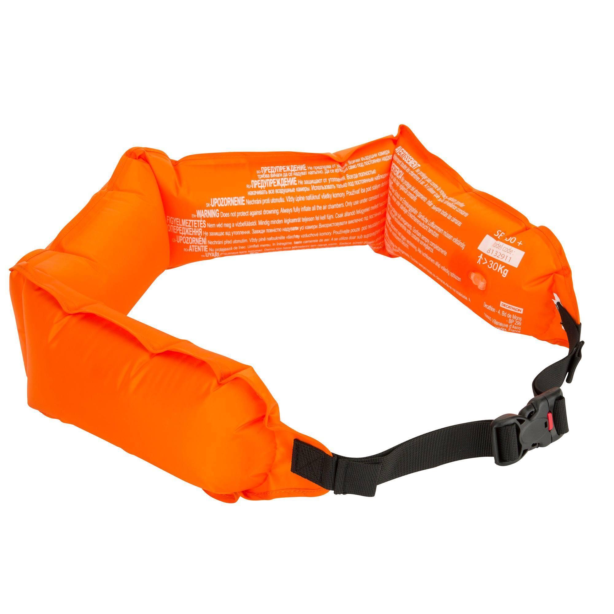 Bouée de snorkeling 100+ orange
