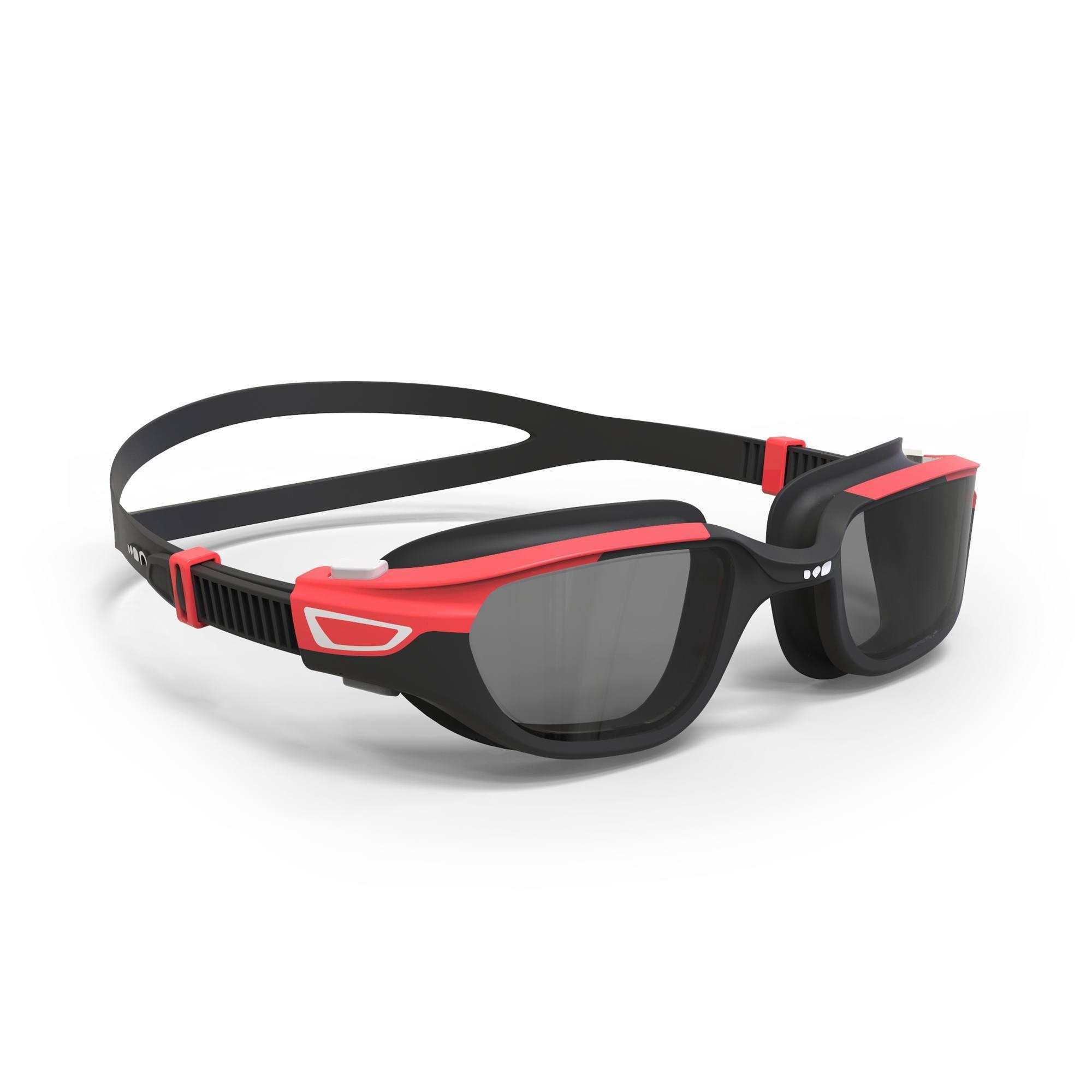 Lunettes de natation SPIRIT Taille L noir rouge