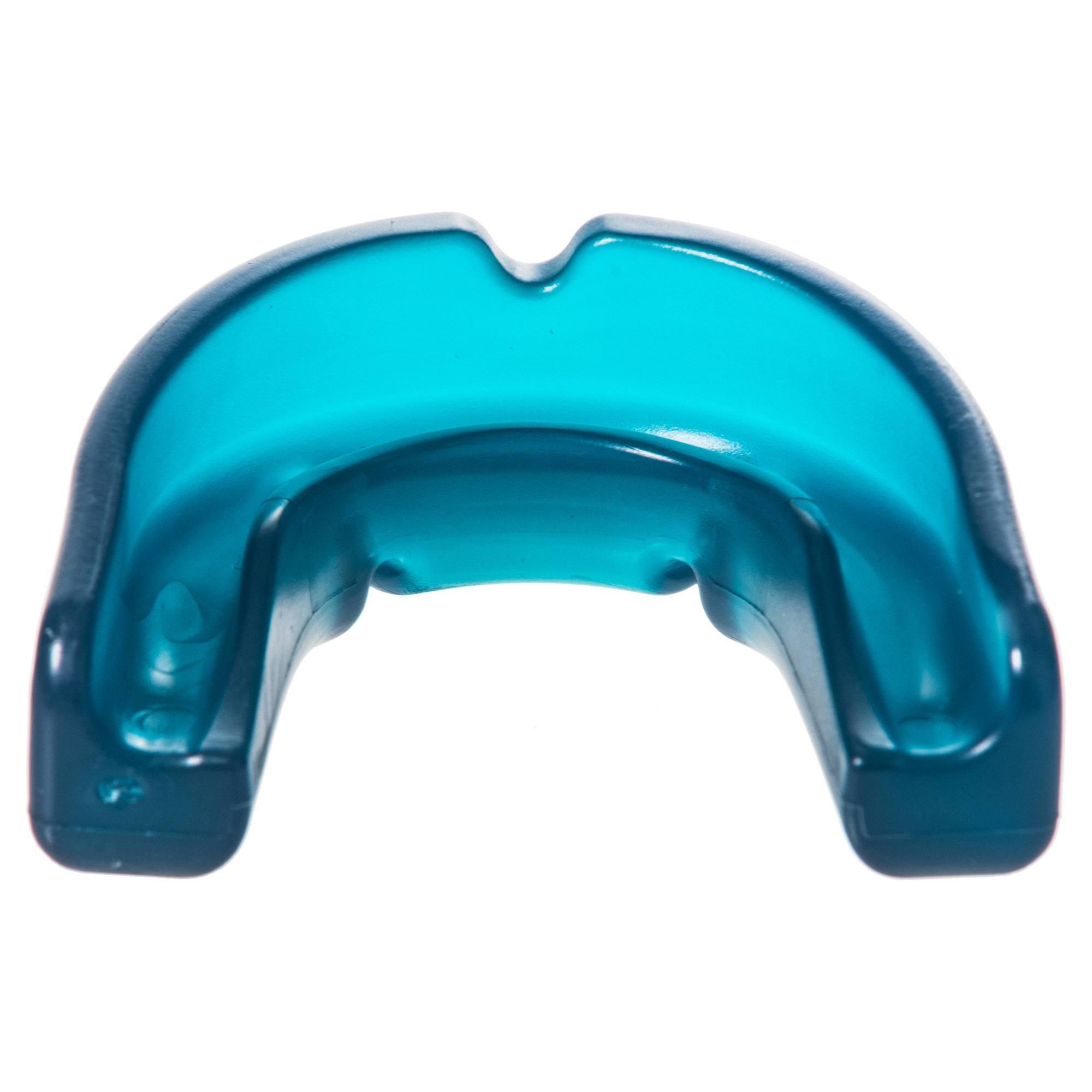 Protège-dents de hockey sur gazon intensité faible adulte Large FH100 turquoise