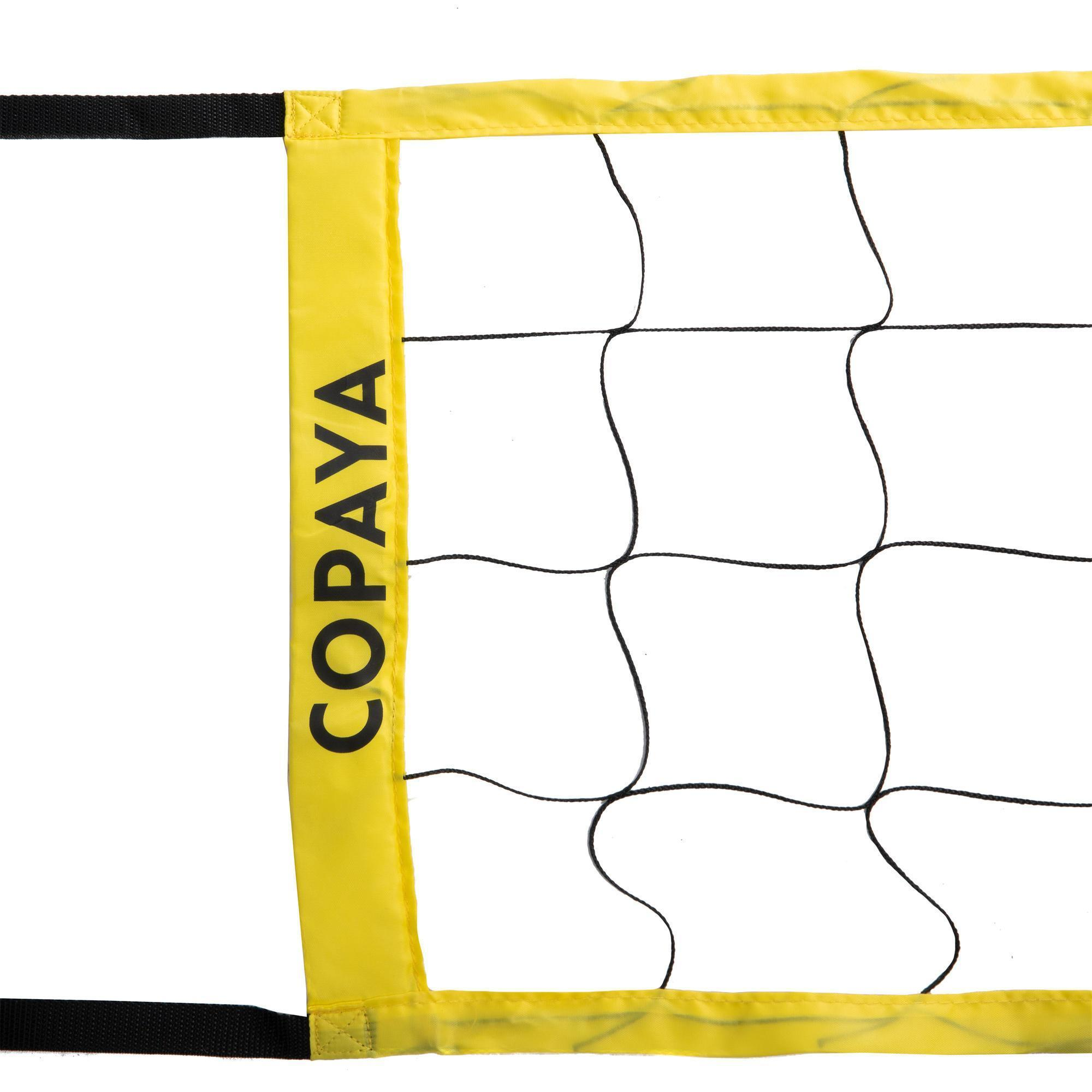 Filet de volley et beach-volley BV100 WIZ NET jaune