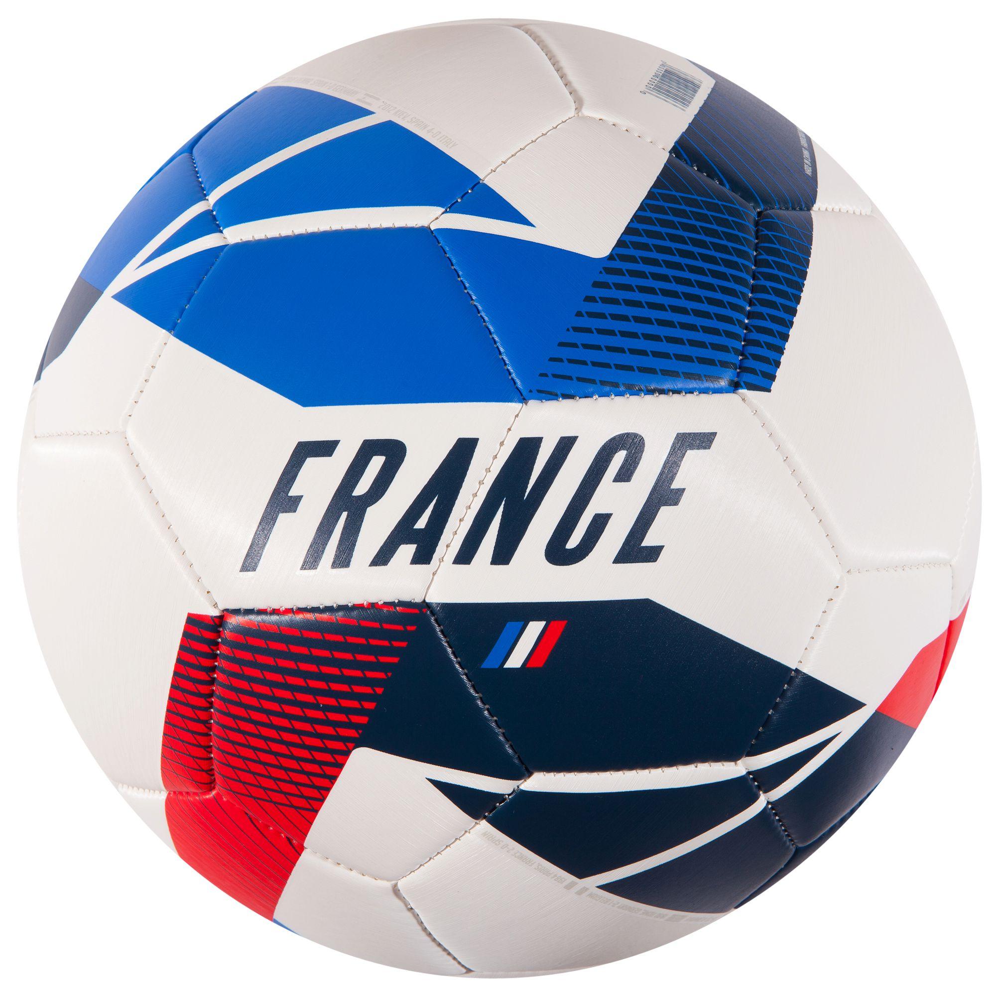 ballon football france taille 5 bleu blanc rouge clubs collectivit s decathlon pro. Black Bedroom Furniture Sets. Home Design Ideas