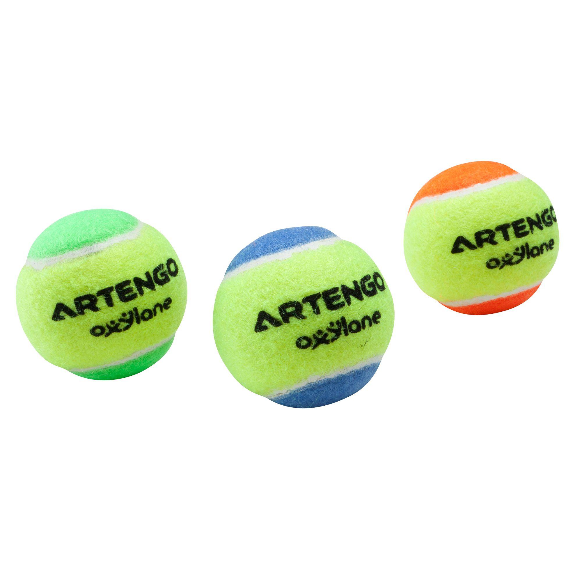 3 BALLES MINI TENNIS ARTENGO