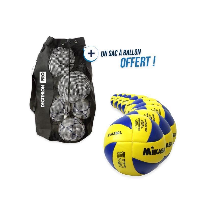 kit 10 ballons mikasa mva 350l avec sac offert