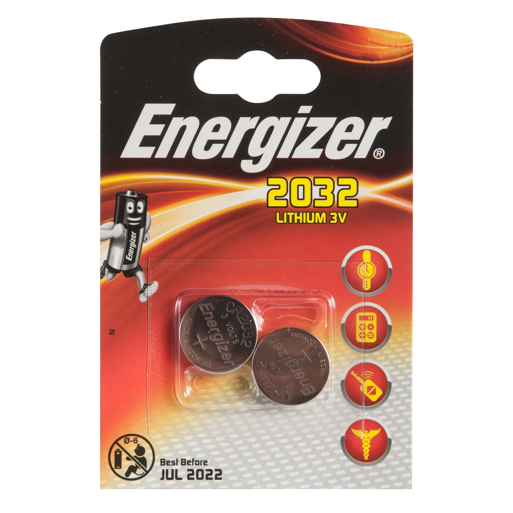 PILES ENERGIZER CR2032