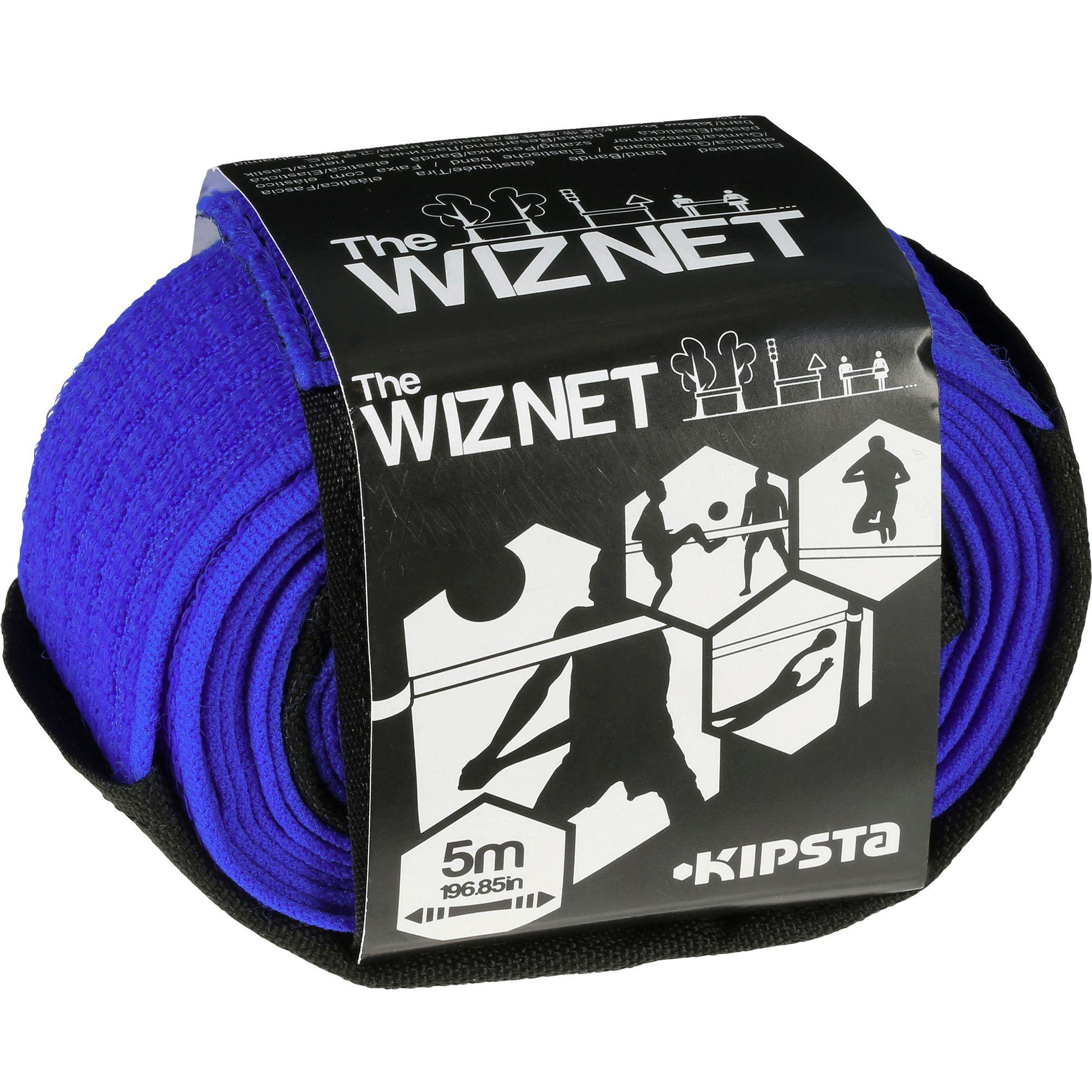 Filet beach volley The Wiz Net bleu