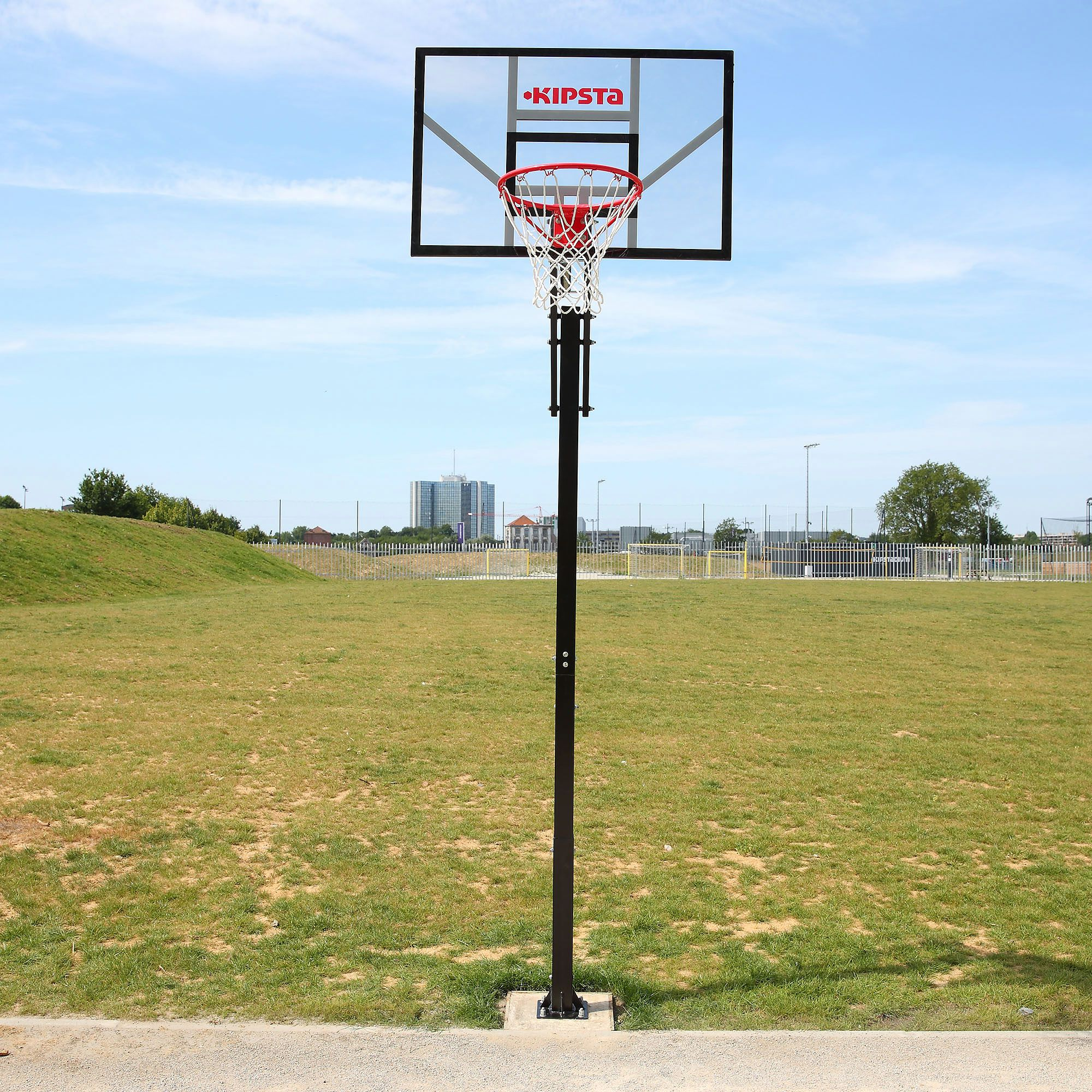 Panier de basket enfant adulte b700 inground 2 4m 3 05 - Decathlon panier basket ...