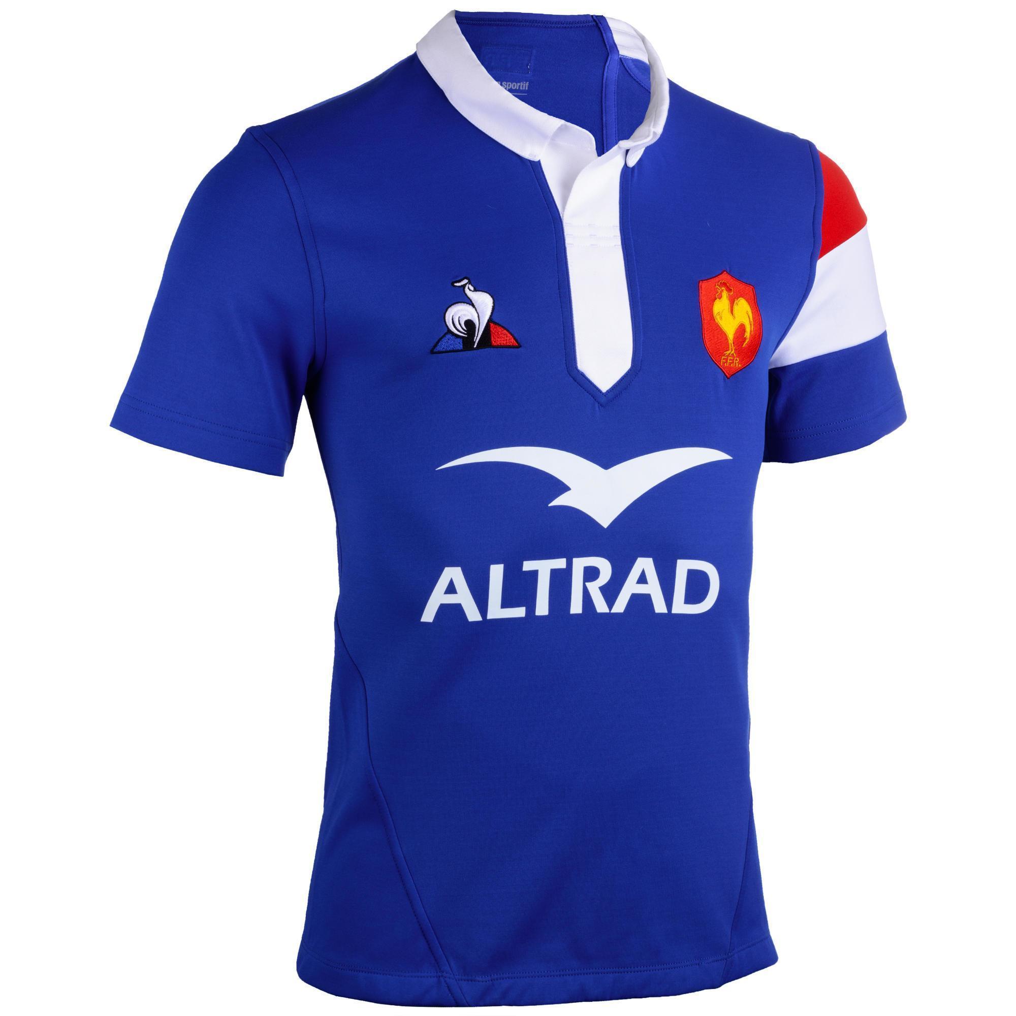 Maillot Equipe de France Rugby Domicile 19