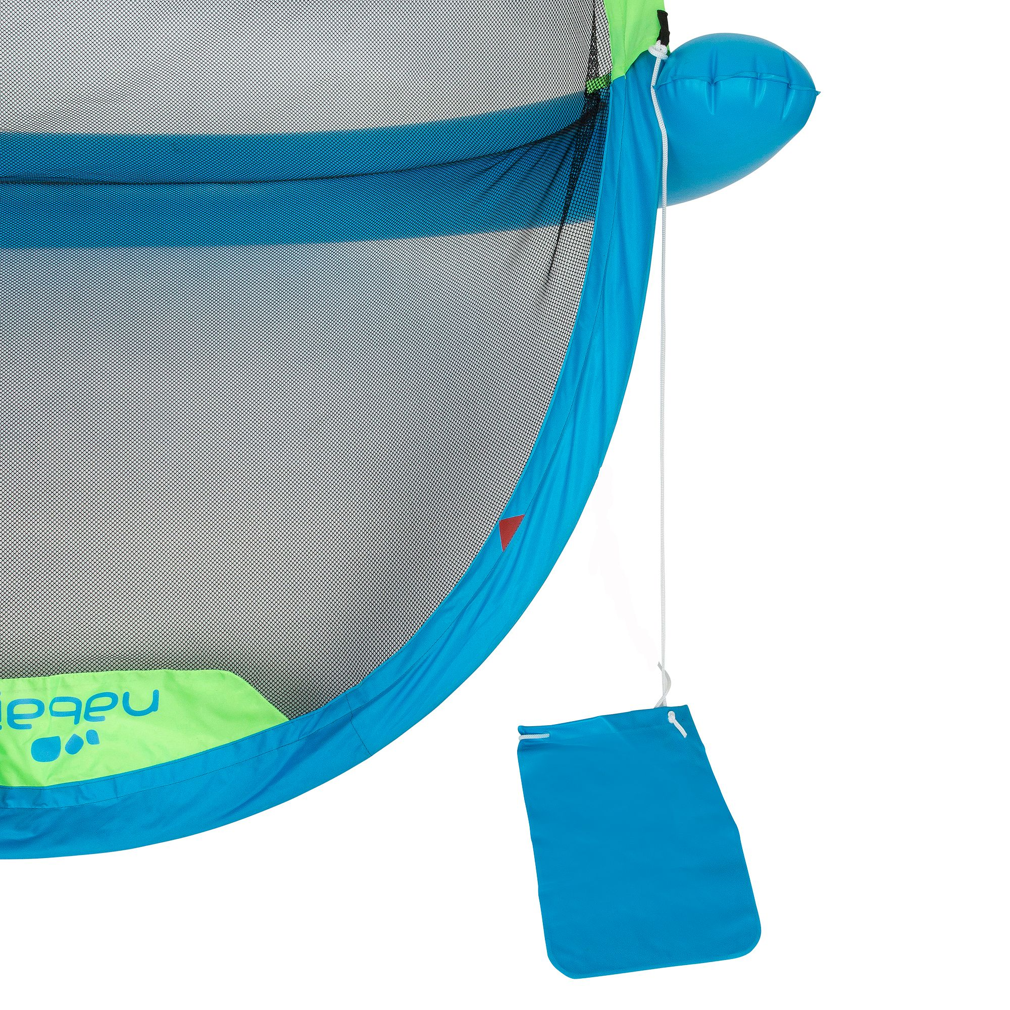 But gonflable waterpolo piscine polo up blue vert clubs - Decathlon piscine gonflable ...