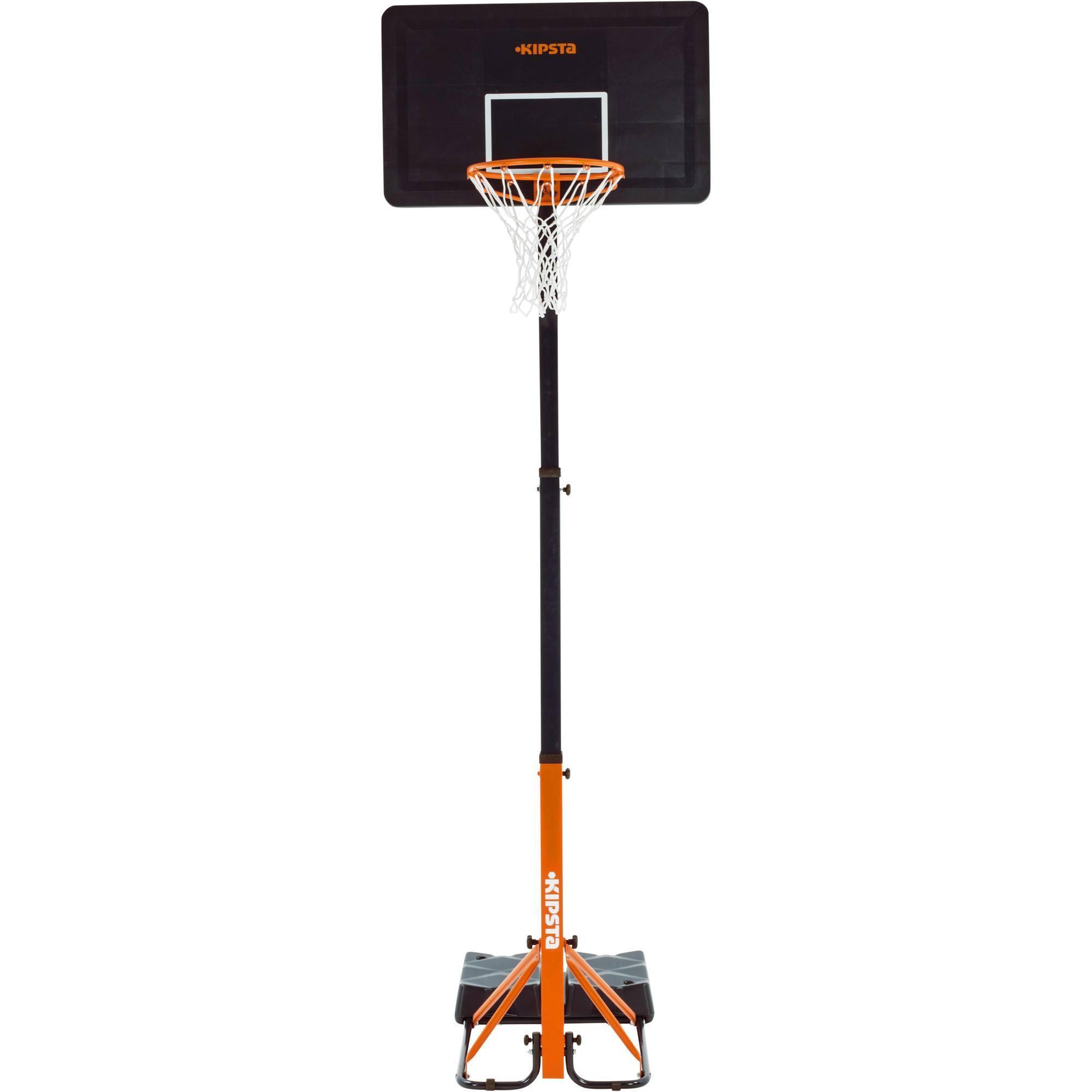 panier de basket enfant adulte b400 easy bleu orange 2. Black Bedroom Furniture Sets. Home Design Ideas