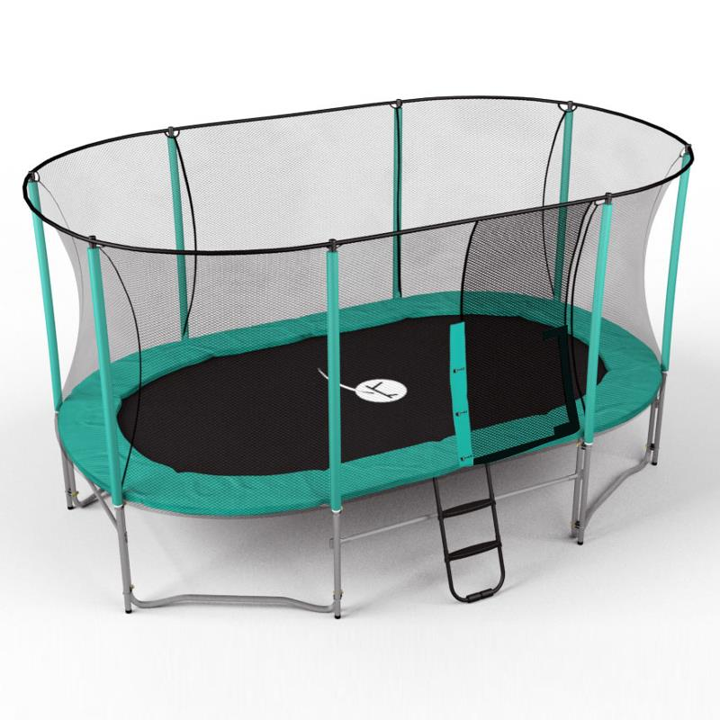 Pack trampoline ovalie clubs collectivit s decathlon pro for Trampoline exterieur decathlon