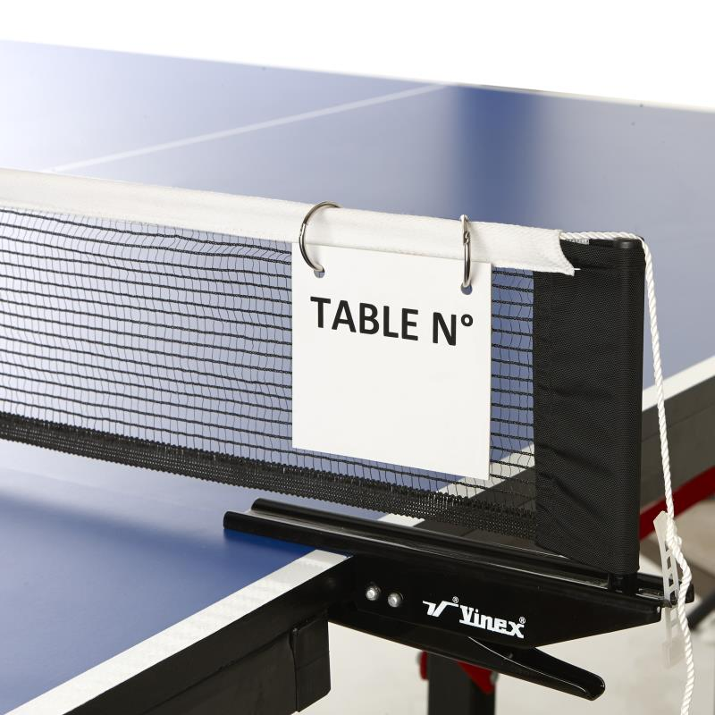 AFFICHAGE TERRAIN DE TENNIS DE TABLE