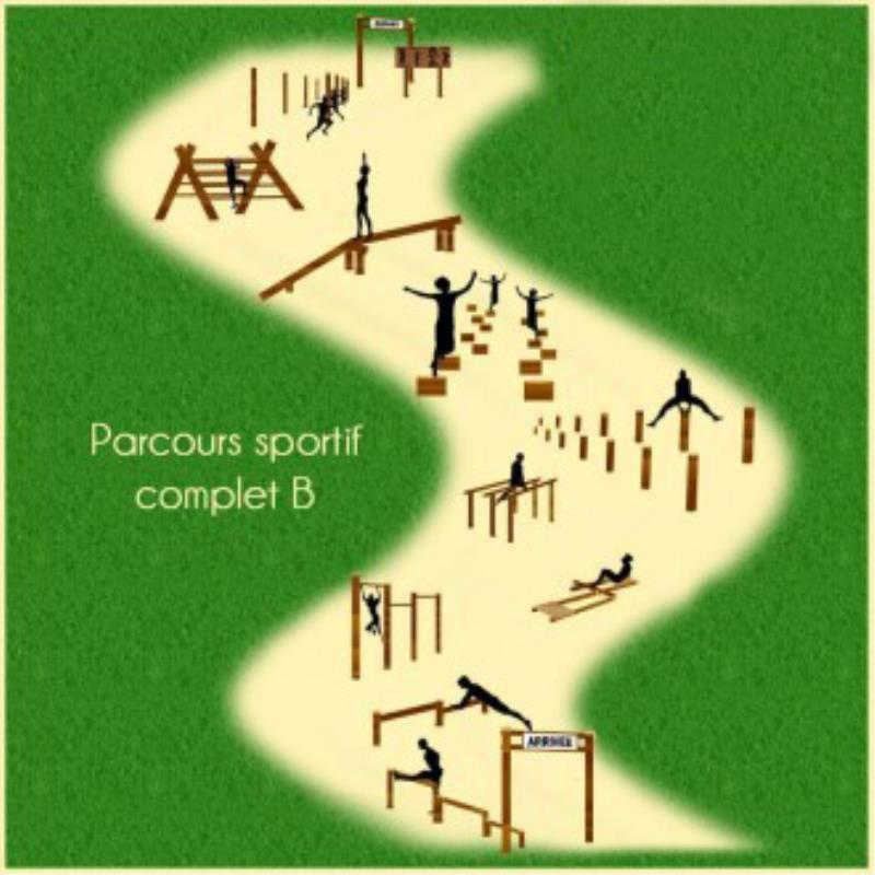 PARCOURS SPORTIF COMPLET B 10 MODULES