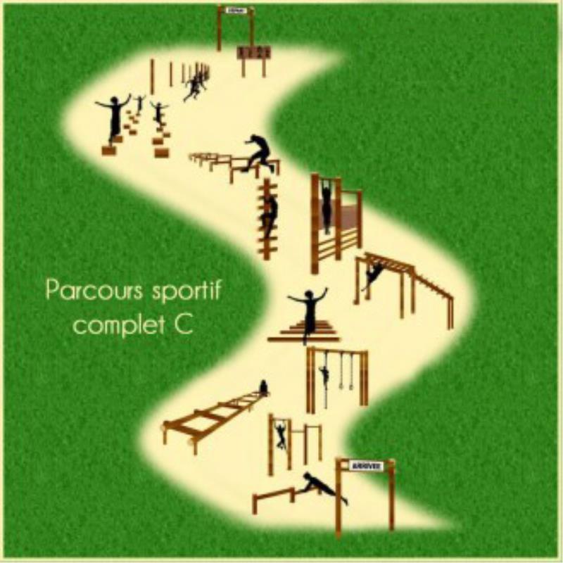 PARCOURS SPORTIF COMPLET C 11 MODULES