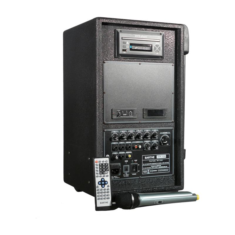 SONO SPORT BARTHE 120 WATTS, DVD/VCD/CD/MP3/WMA/DIVX