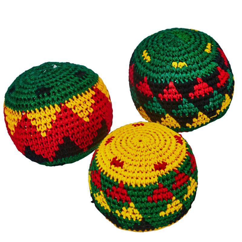 lot de 3 balles rasta multicolores jonglage clubs collectivit s decathlon pro. Black Bedroom Furniture Sets. Home Design Ideas