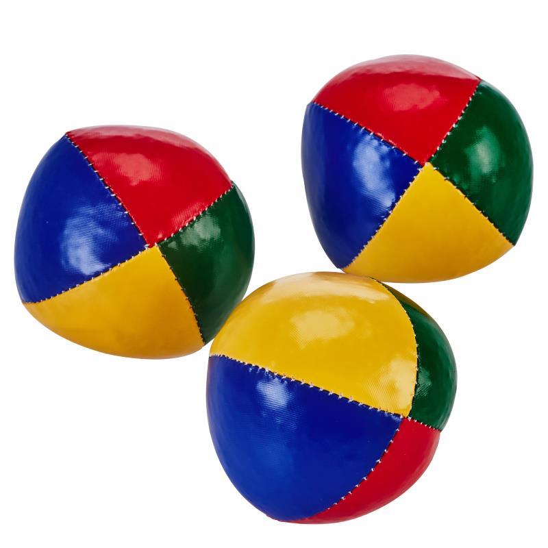 LOT DE 3 BALLES À GRAINS DE JONGLAGE BEACH