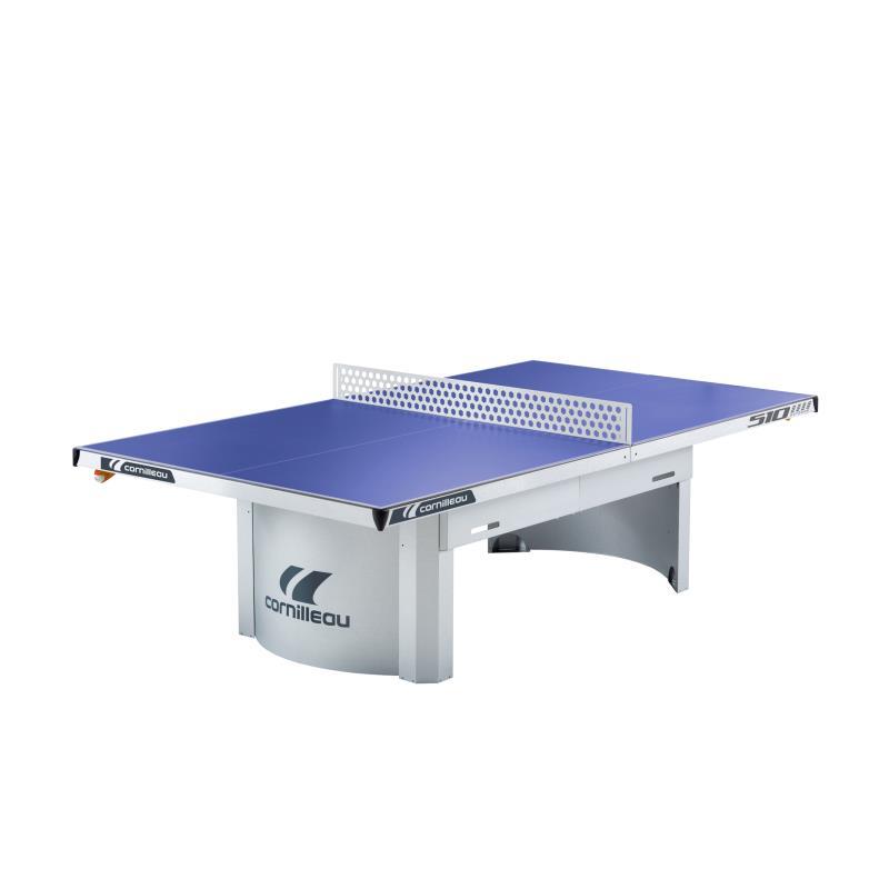 TABLE DE TENNIS DE TABLE PRO 510 OUTDOOR CORNILLEAU BLEUE