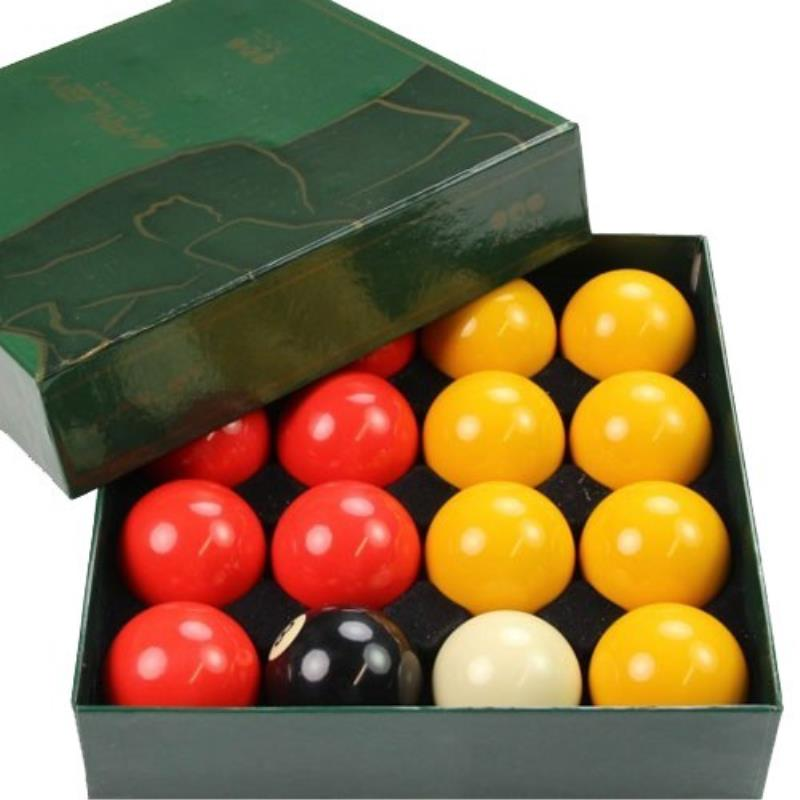 LOT DE 16 BILLES BILLARD POOL ANGLAIS RILEY