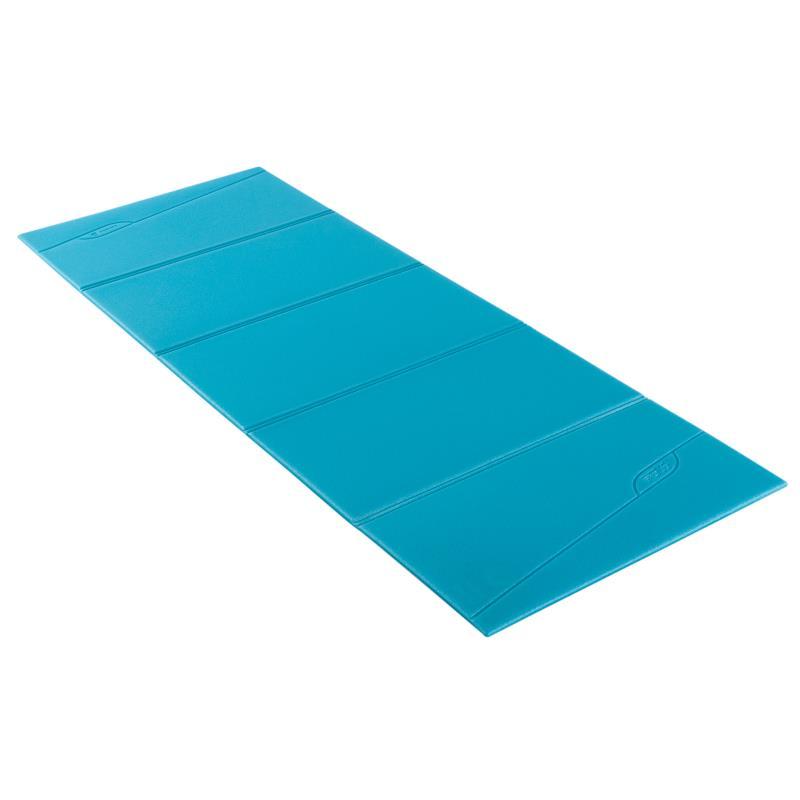 Tapis De Sol Fitness Pliable Fold Bleu Clubs Collectivit S Decathlon Pro