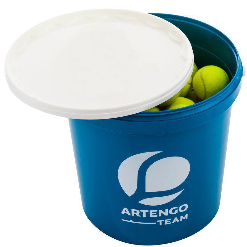 Baril 40 balles tennis mousse tricolore Artengo tb 700s - 1