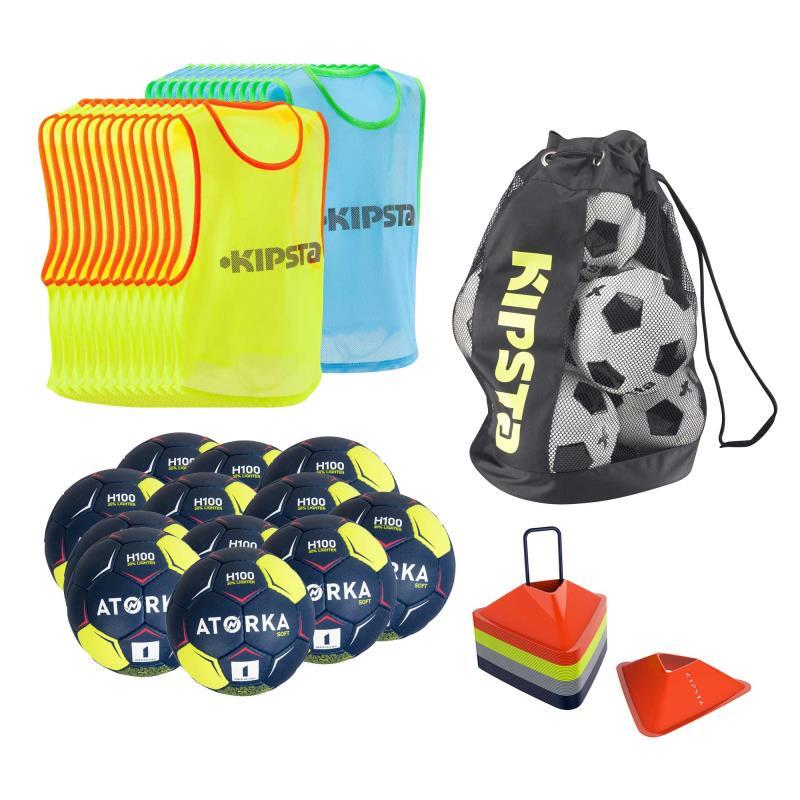 Kit apprentissage handball junior ballon caoutchouc - Taille 00