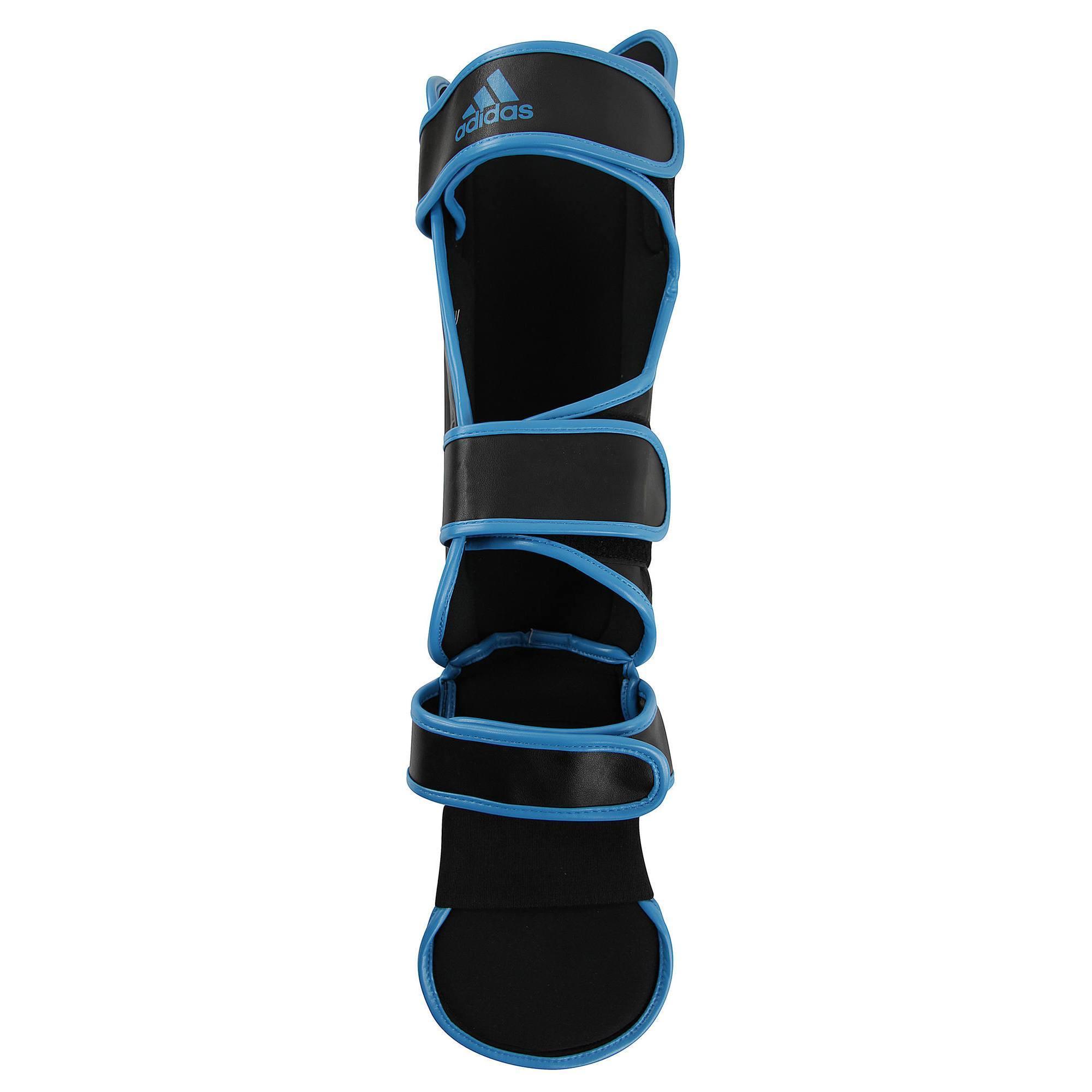 Prot ge tibia pied noir bleu - Protege tibia decathlon ...