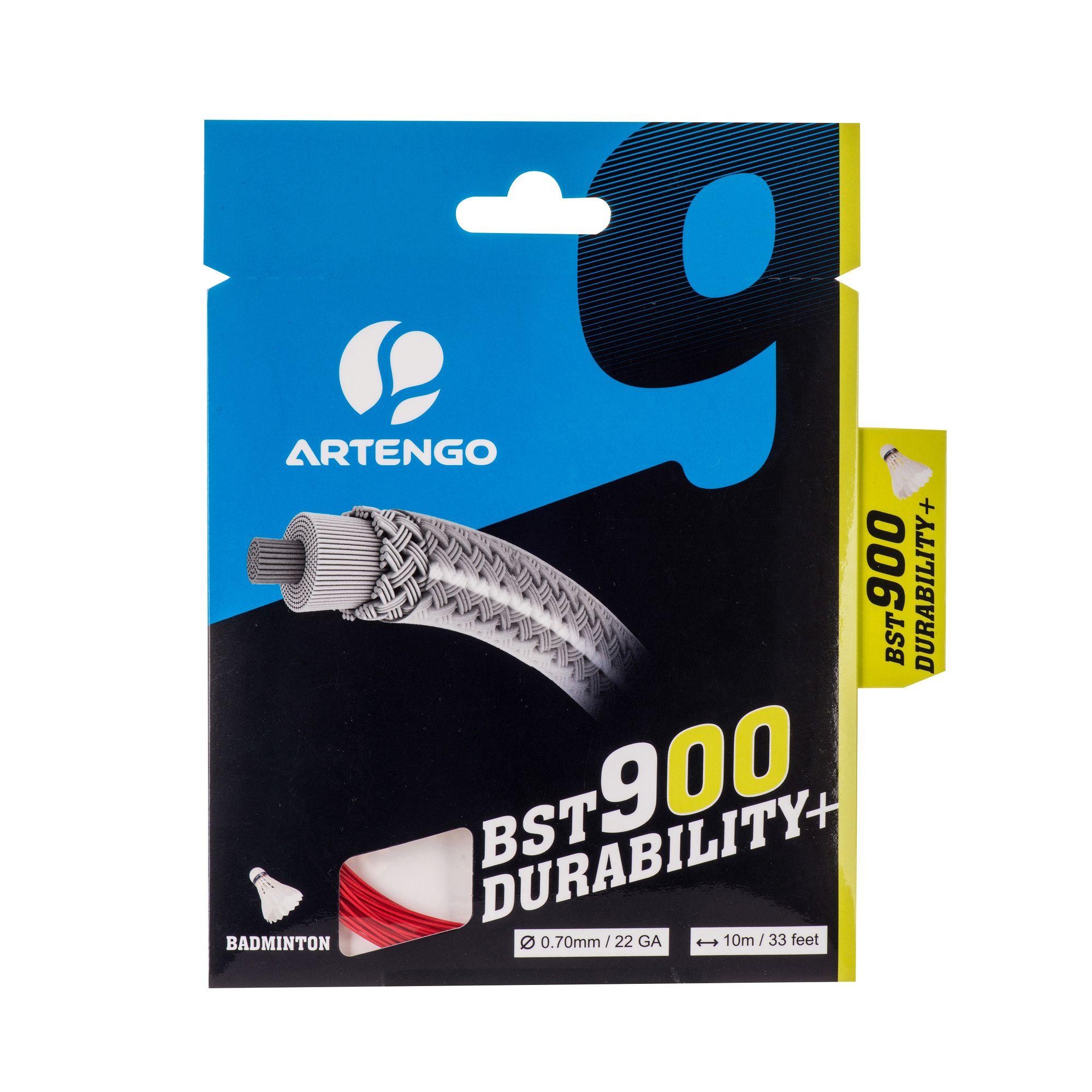 CORDAGE DE BADMINTON BST900 ROUGE