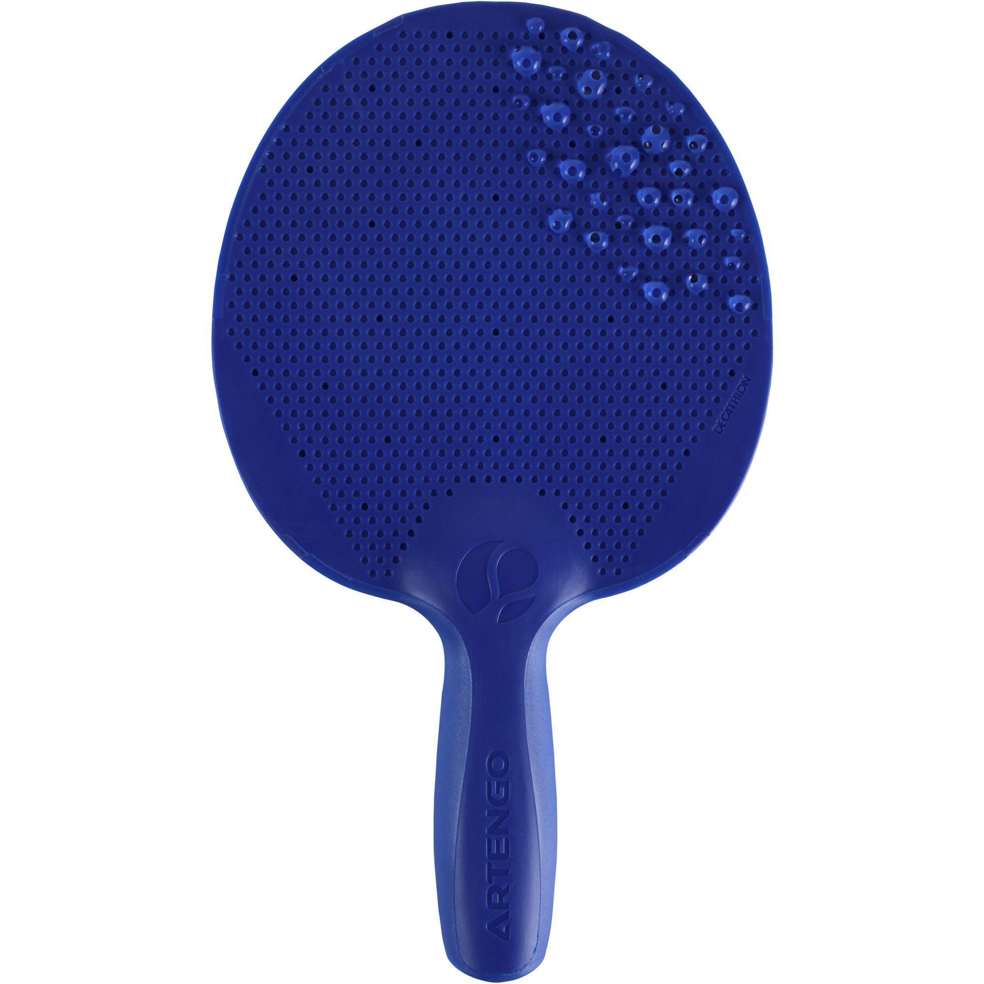 raquette de free ping pong fr 100 o bleue clubs collectivit s decathlon pro. Black Bedroom Furniture Sets. Home Design Ideas
