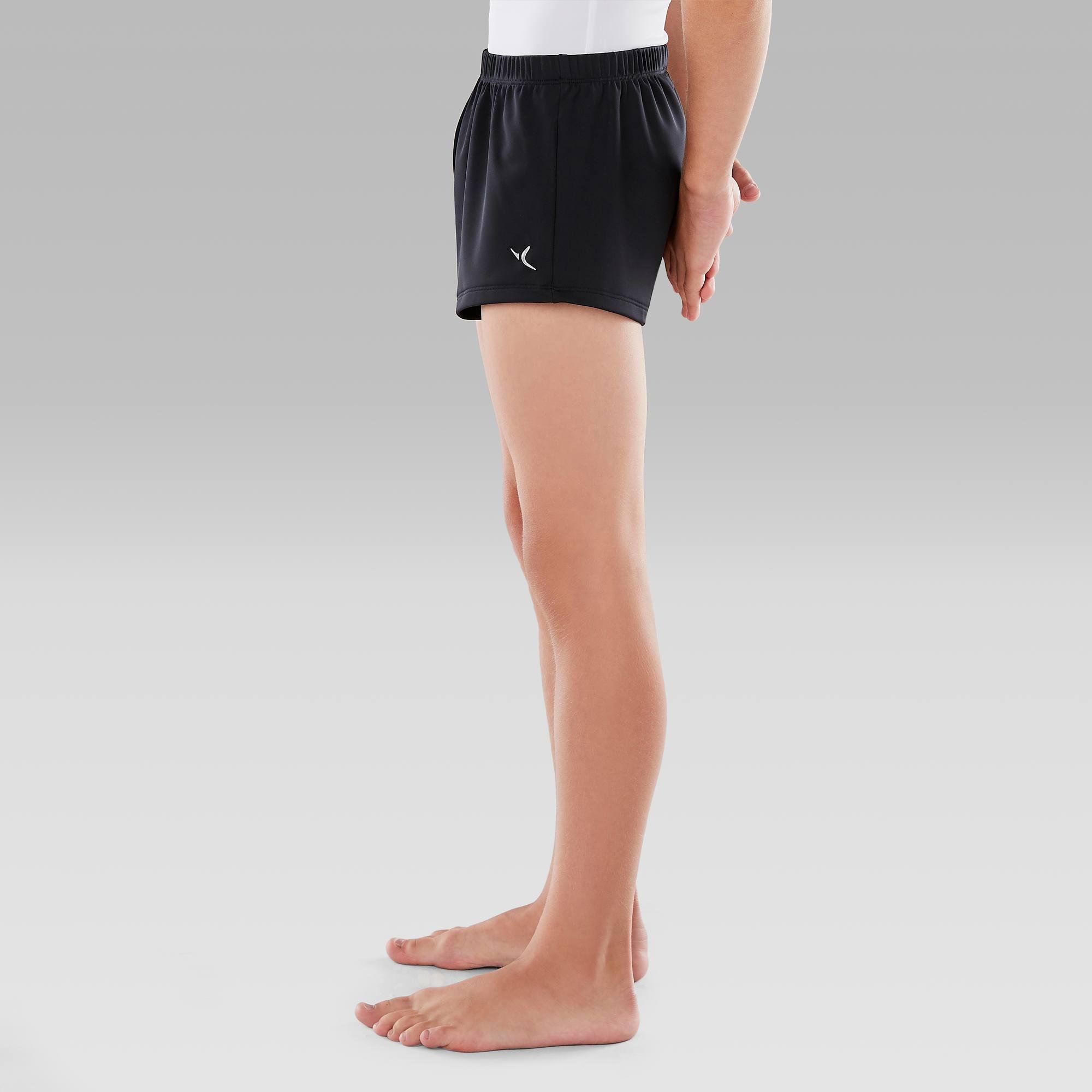 Short de Gymnastique Artistique Masculine (GAM) Noir . 7fdd3275825
