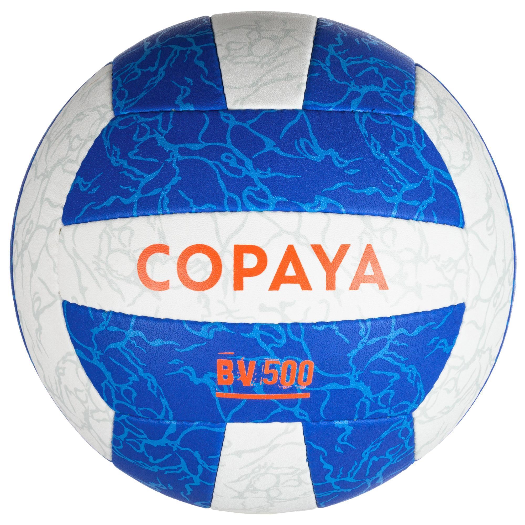 78a82000ff941 Ballon de beach-volley BV500 blanc et bleu - Clubs & Collectivités ...