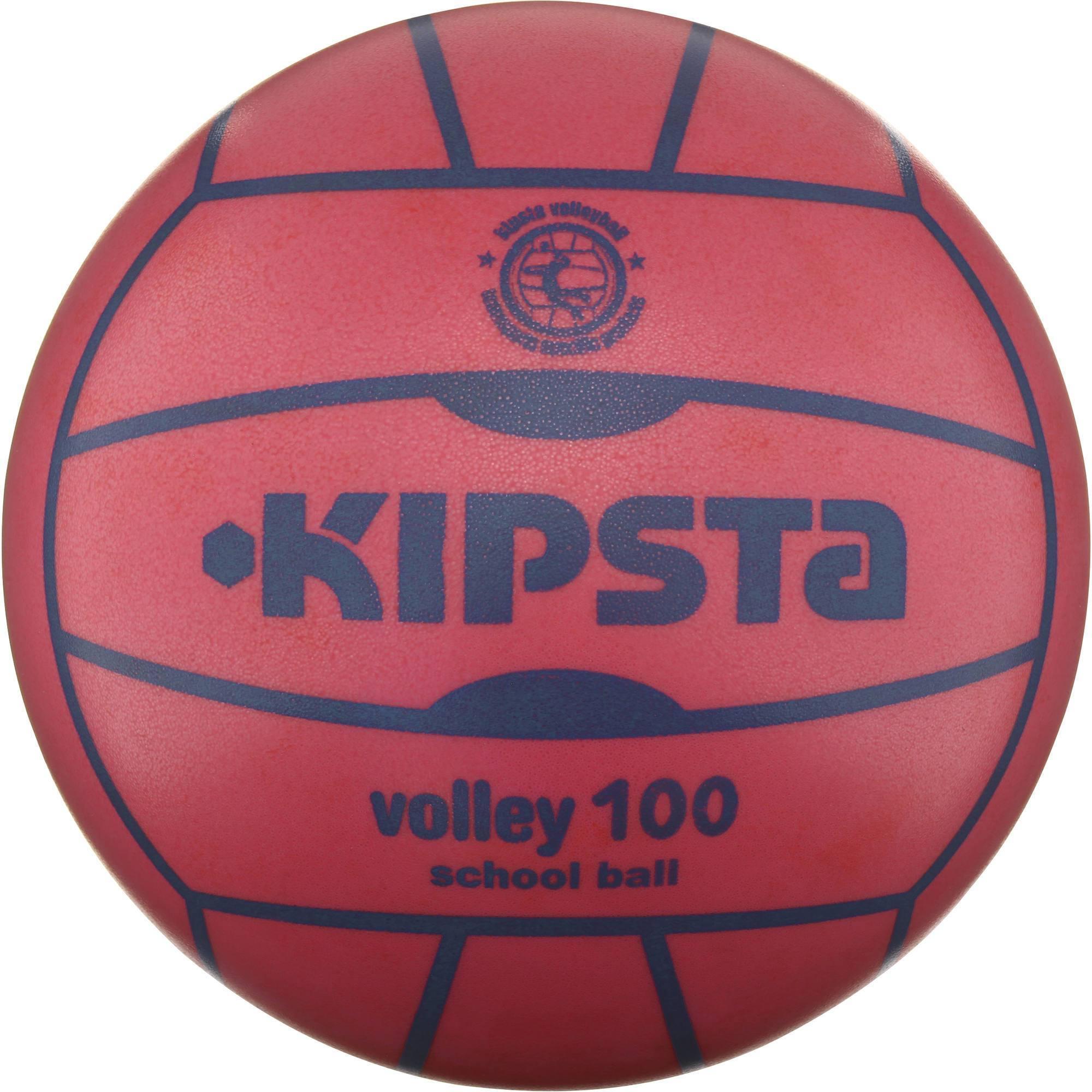 Ballon de volley-ball intérieur V100 orange