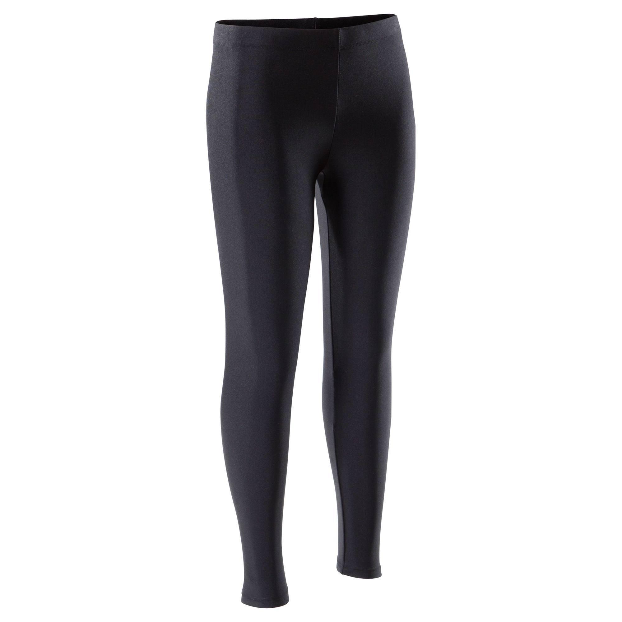 Legging Gymnastique Fille (GAF et GR) noir 100