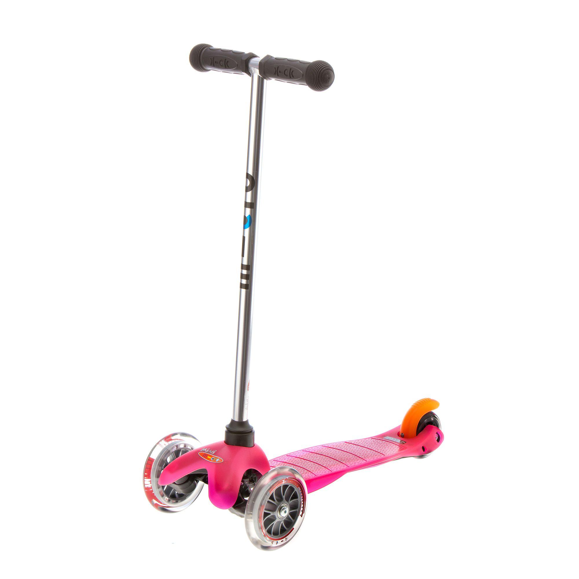 Trottinette 3 roues fille MINI MICRO rose