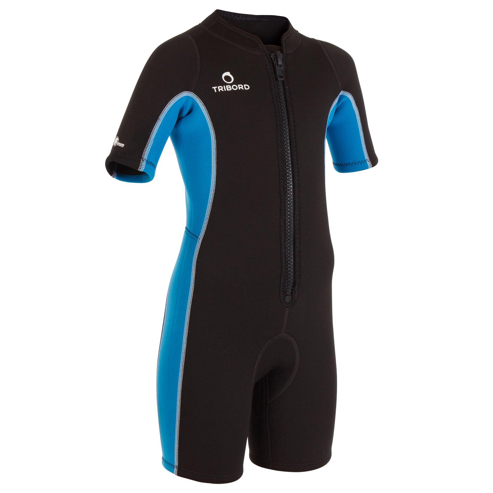 Shorty2mm parfait pour snorkeling et plongées dans les eaux tropicales