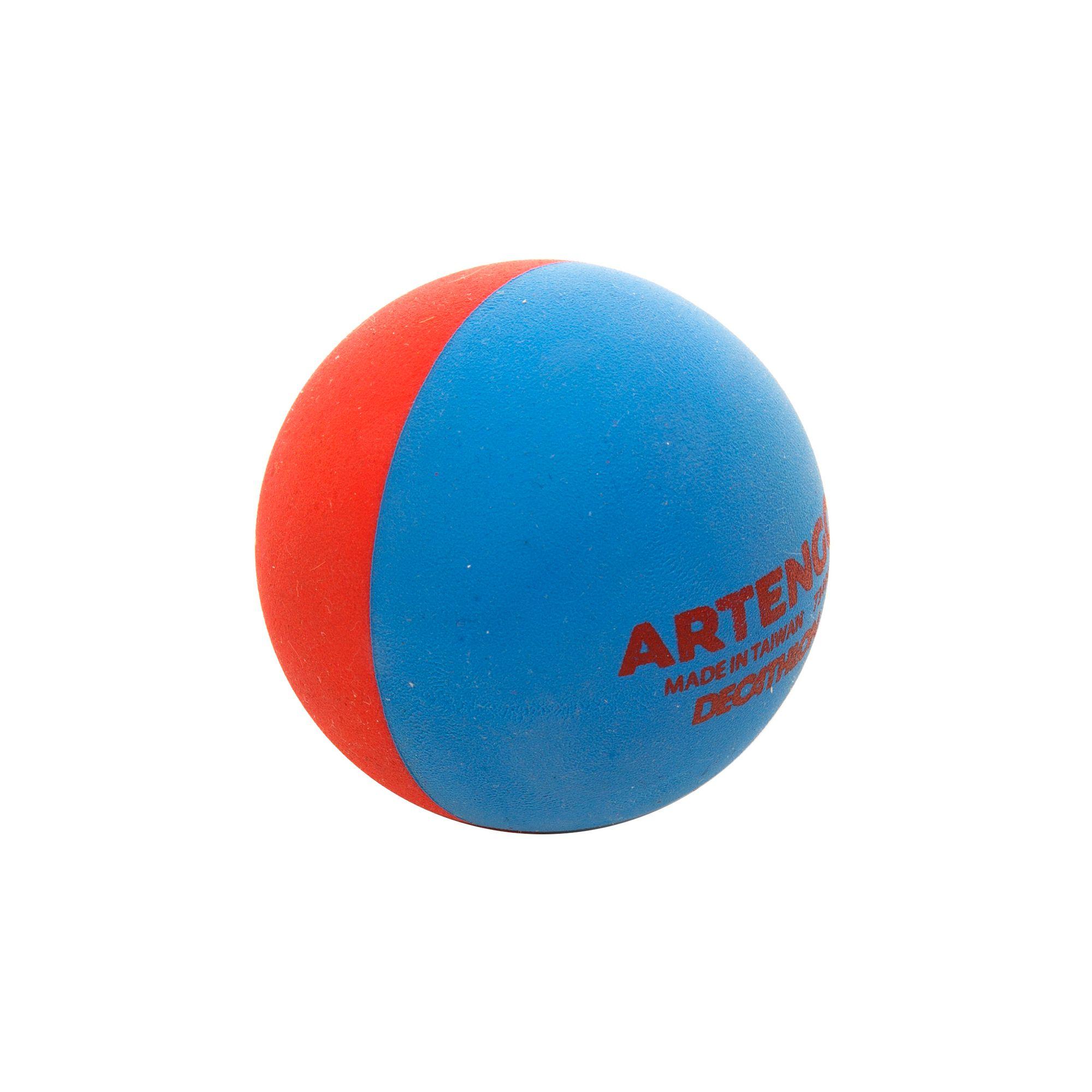 Pelote Ball cross Rouge/bleu