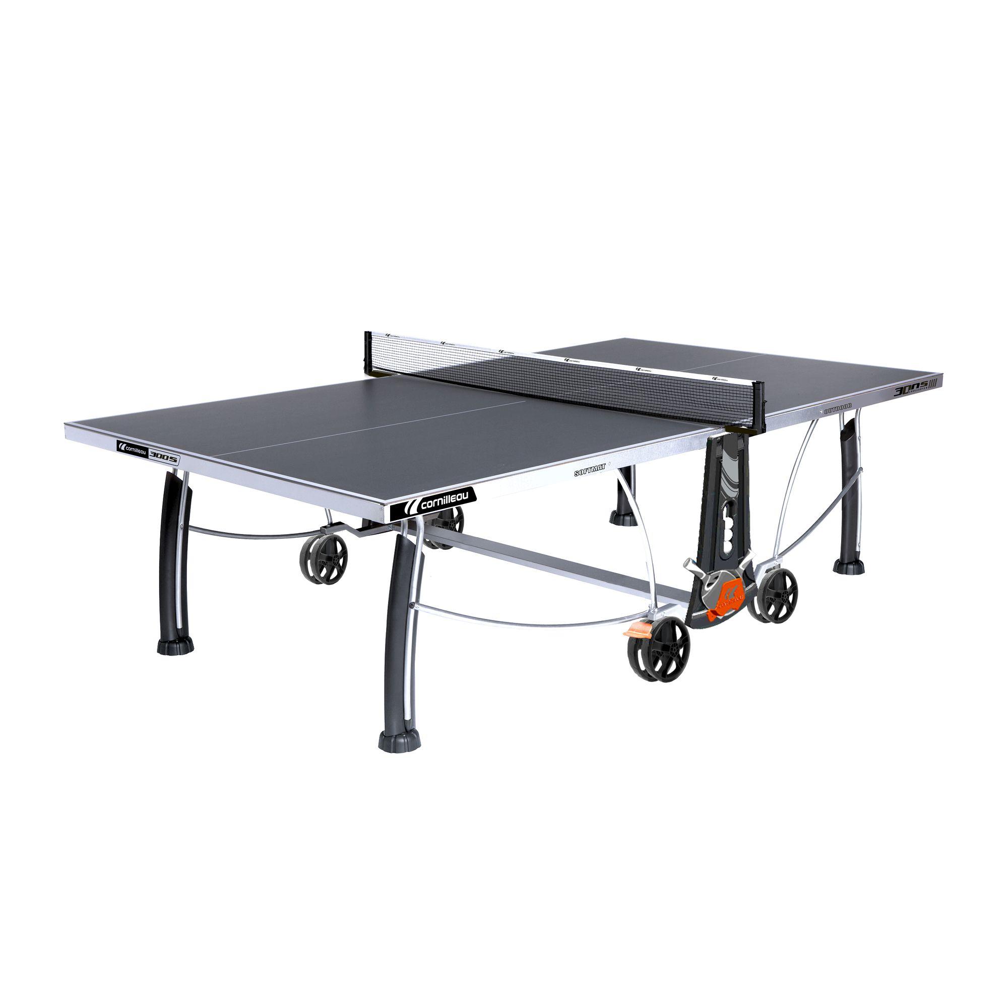 TABLE DE TENNIS DE TABLE FREE CROSSOVER 300S OUTDOOR GRISE