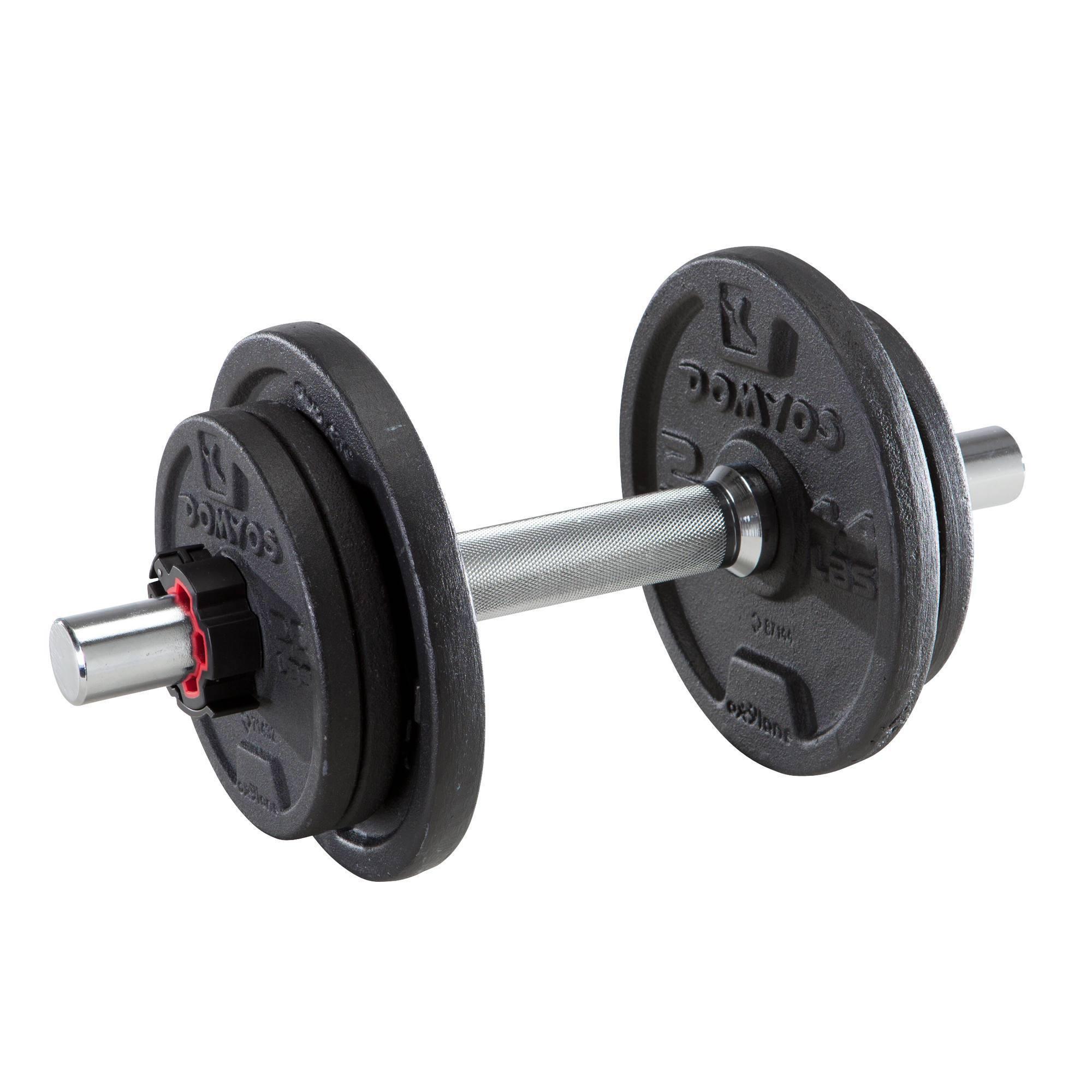 Kit haltères 10 kg musculation