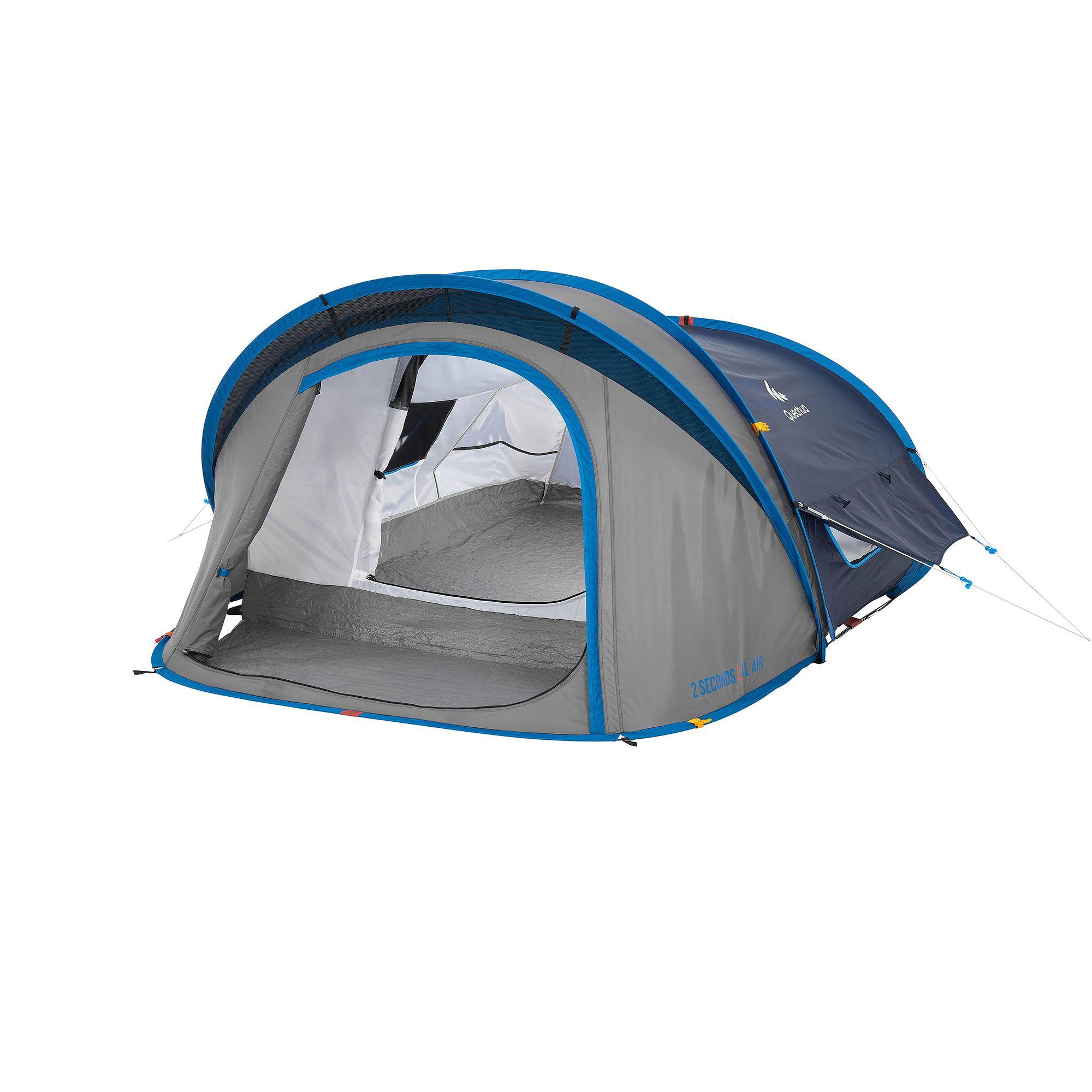 Tente de camping 2 seconds xl air 2 personnes