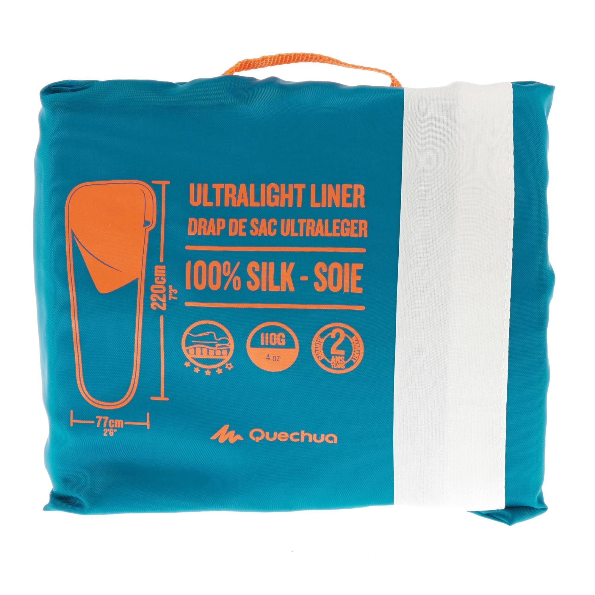 sac de couchage en soie decathlon