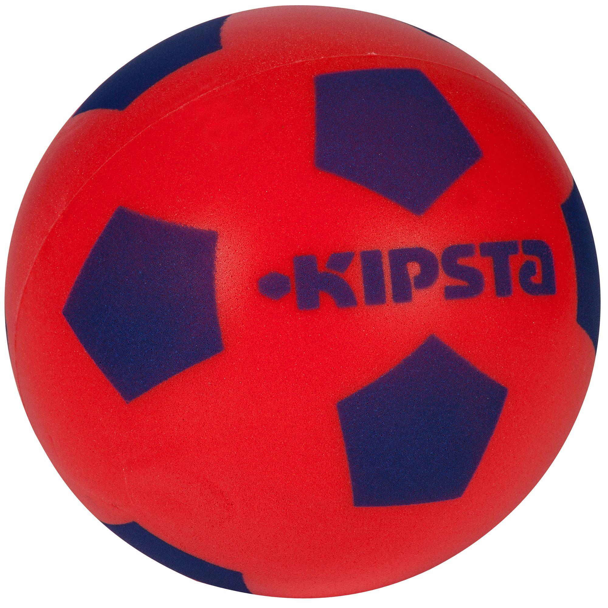 Ballon football Foam 300 taille 4 rouge bleu